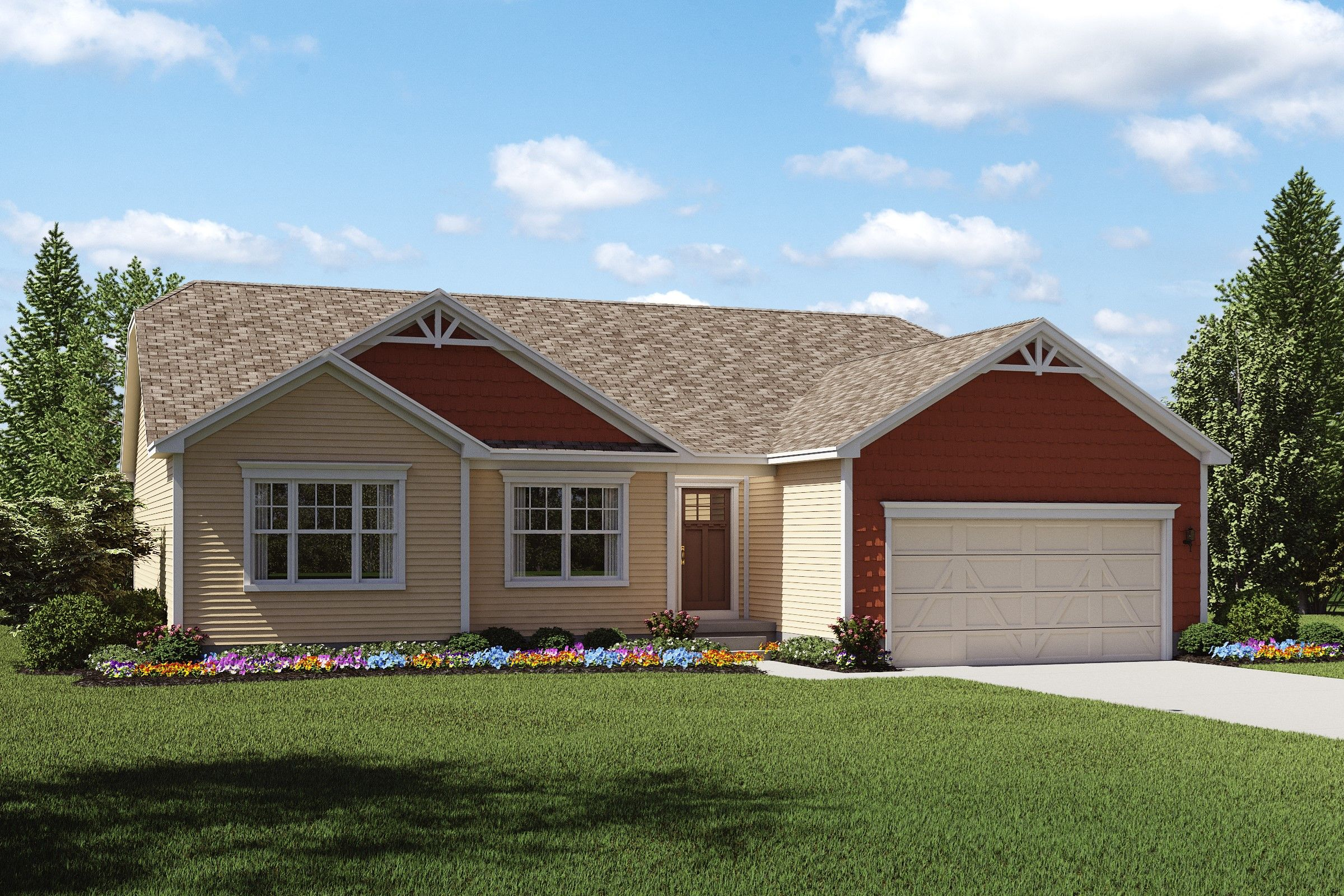 Exterior featured in the Carnegie By K. Hovnanian® Homes - Build on Your Lot