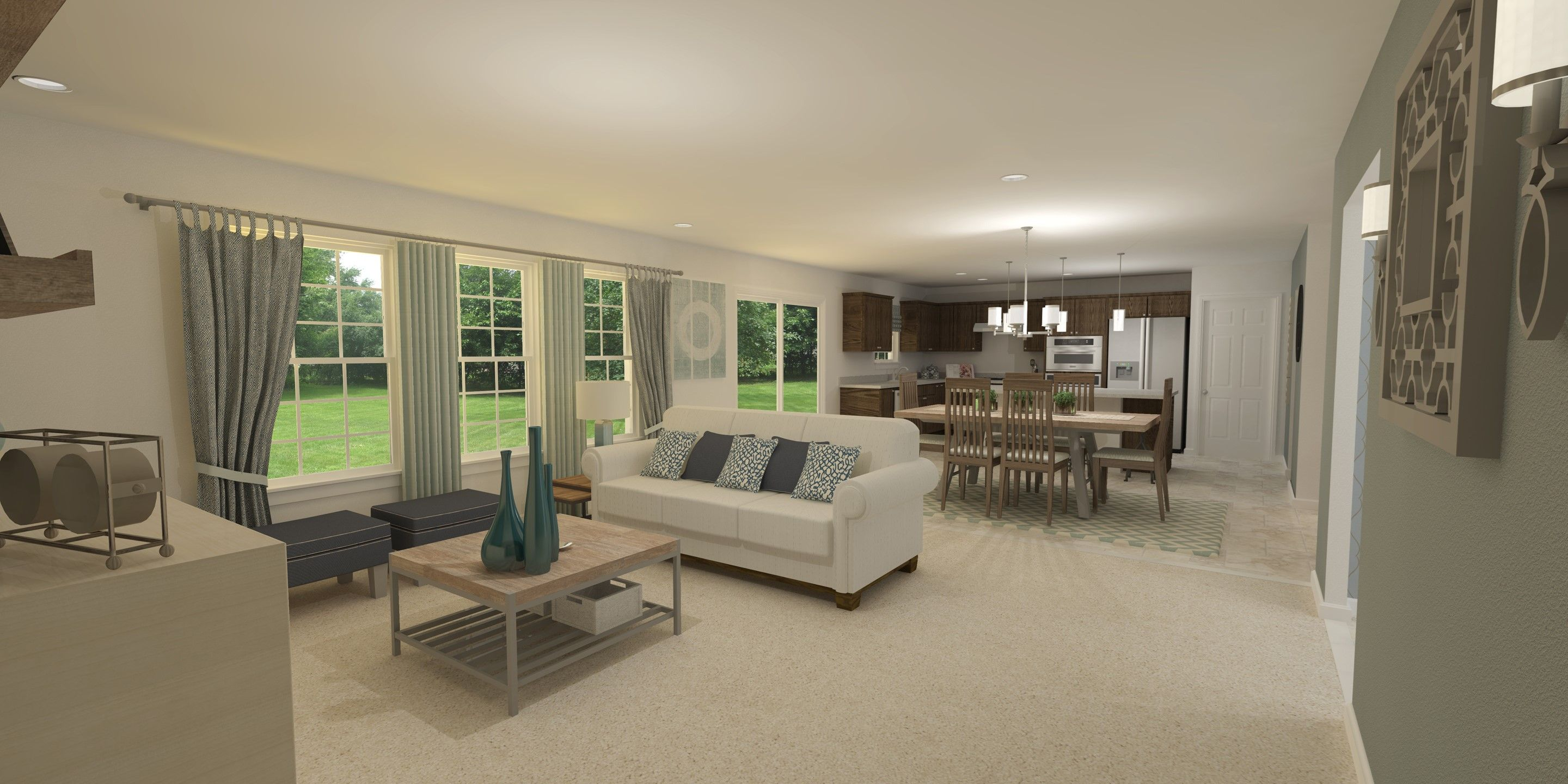 Living Area featured in the Carnegie By K. Hovnanian® Homes - Build on Your Lot in Toledo, OH