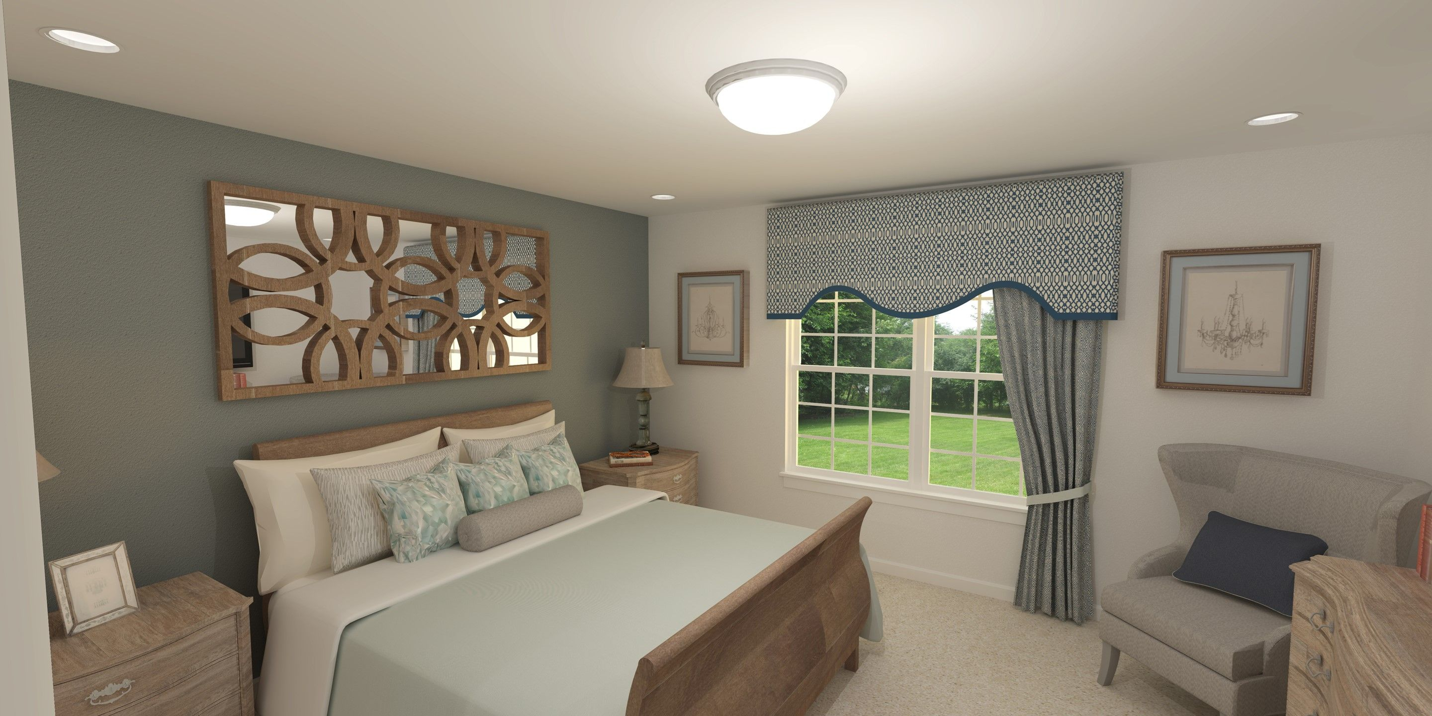 Bedroom featured in the Carnegie By K. Hovnanian® Homes - Build on Your Lot in Mansfield, OH