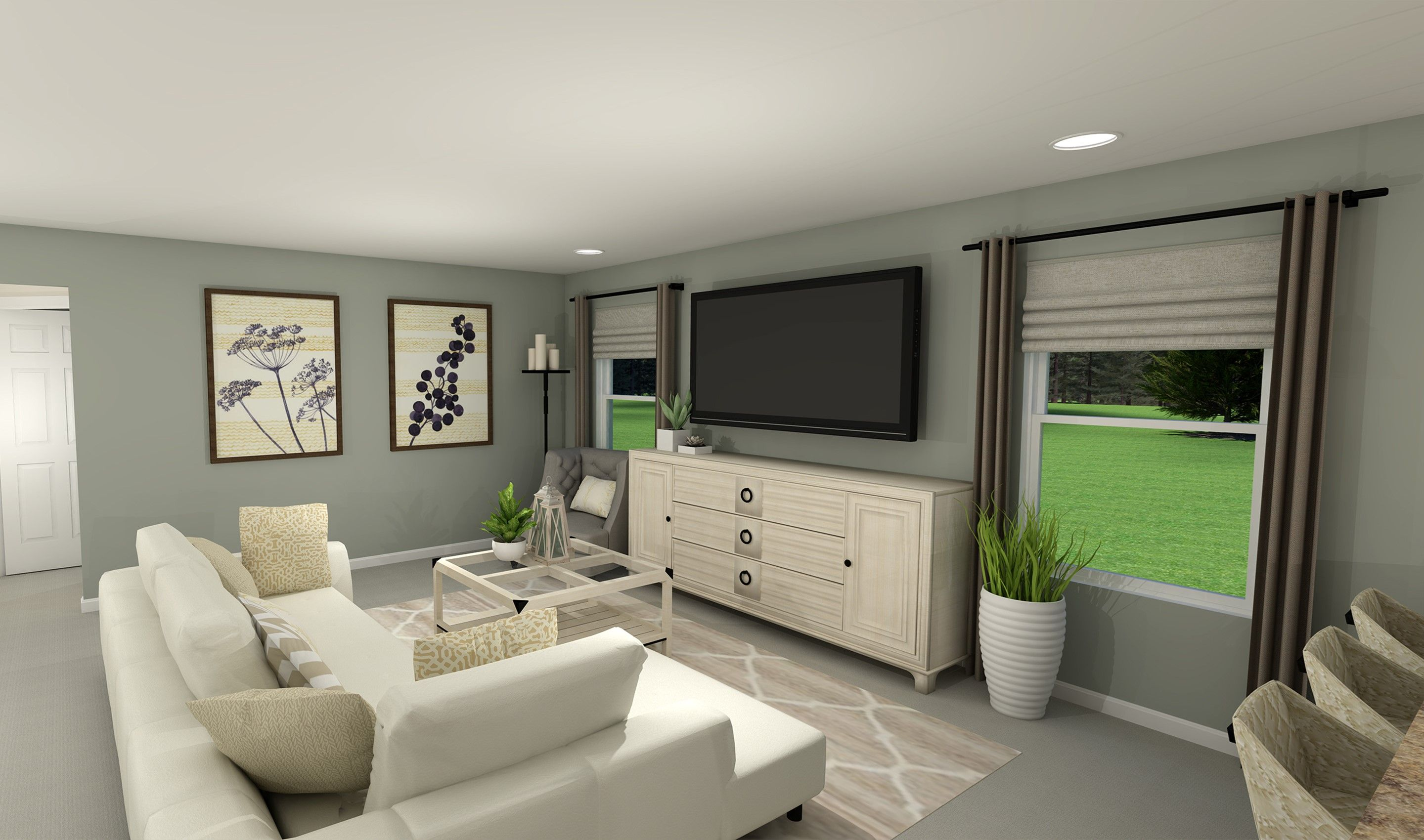 Living Area featured in the Taft By K. Hovnanian® Homes - Build on Your Lot in Toledo, OH