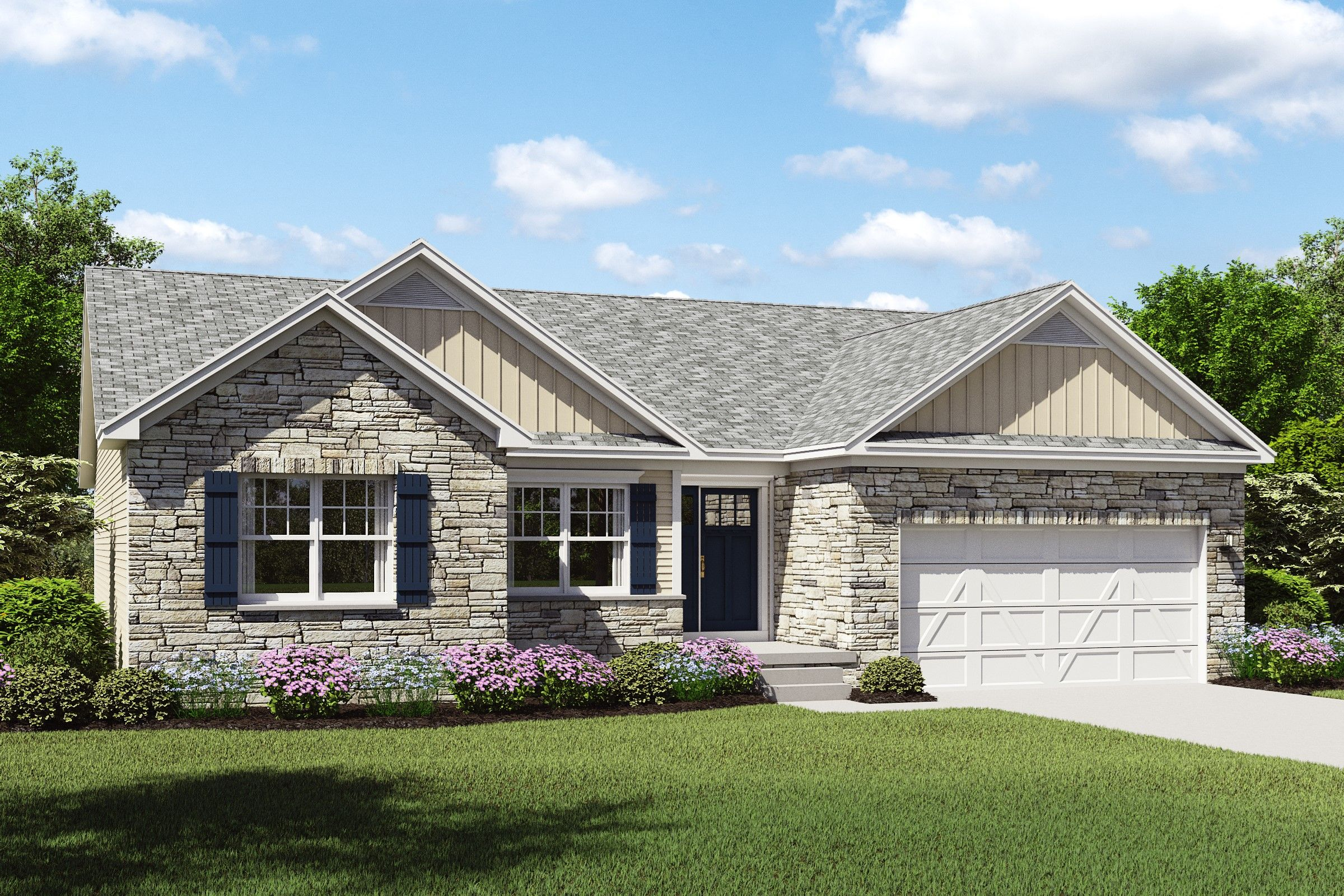 Exterior featured in the Cape Charles By K. Hovnanian® Homes - Build on Your Lot in Toledo, OH