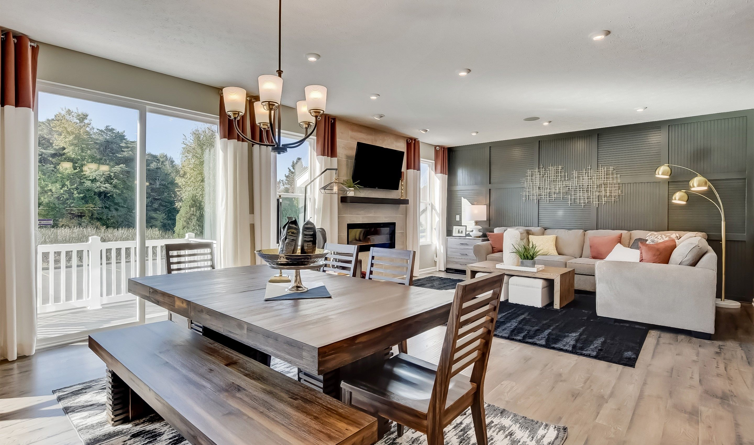 Living Area featured in the Cape Charles By K. Hovnanian® Homes - Build on Your Lot in Columbus, OH