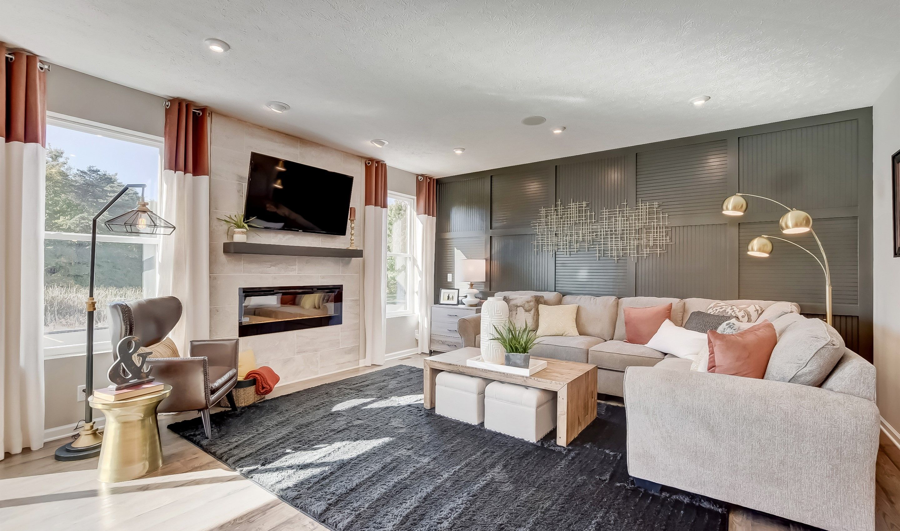 Living Area featured in the Cape Charles By K. Hovnanian® Homes - Build on Your Lot in Toledo, OH