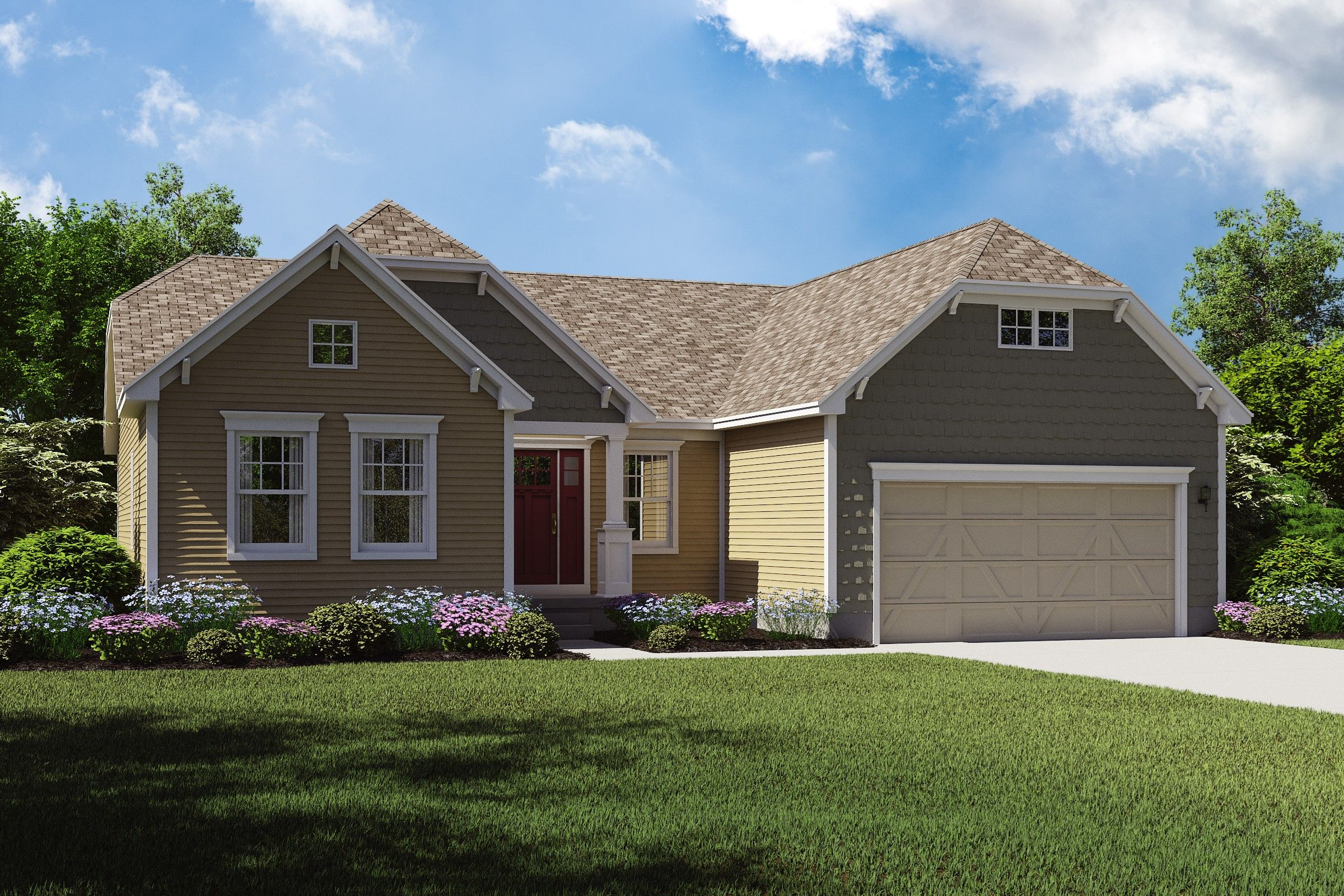 Exterior featured in the Chandler By K. Hovnanian® Homes - Build on Your Lot in Toledo, OH