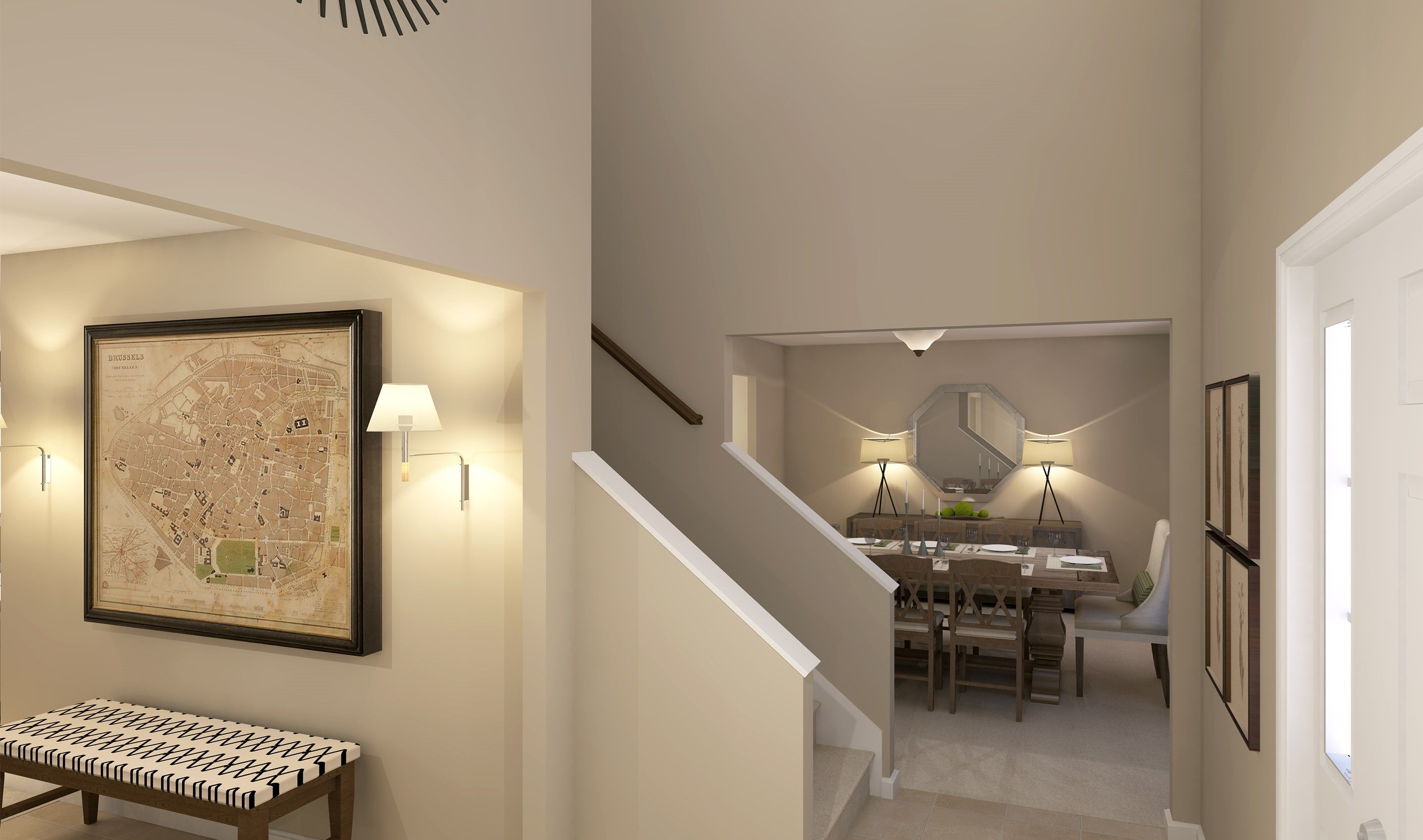 Living Area featured in the Prescott By K. Hovnanian® Homes - Build on Your Lot in Mansfield, OH