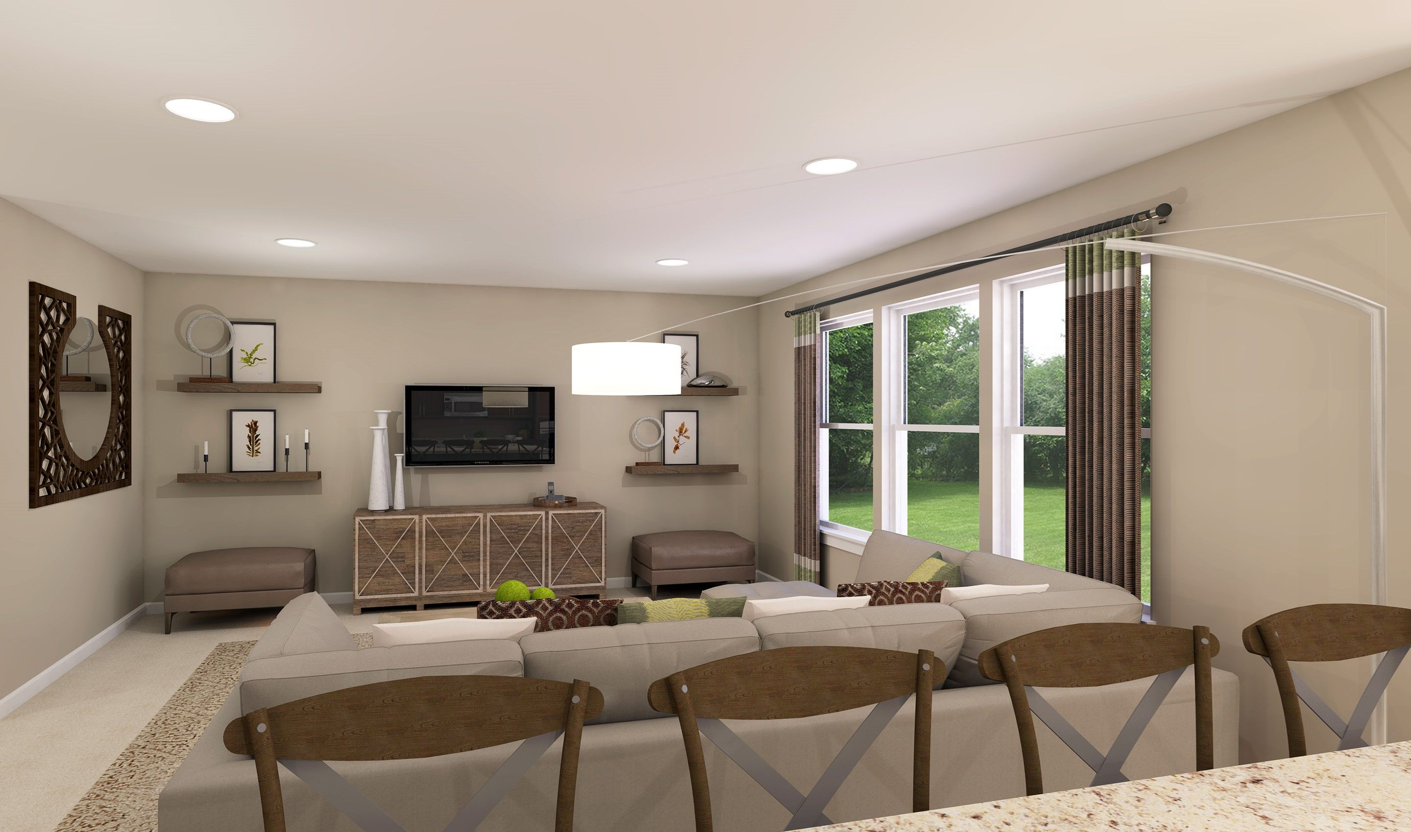Living Area featured in the Prescott By K. Hovnanian® Homes - Build on Your Lot in Toledo, OH