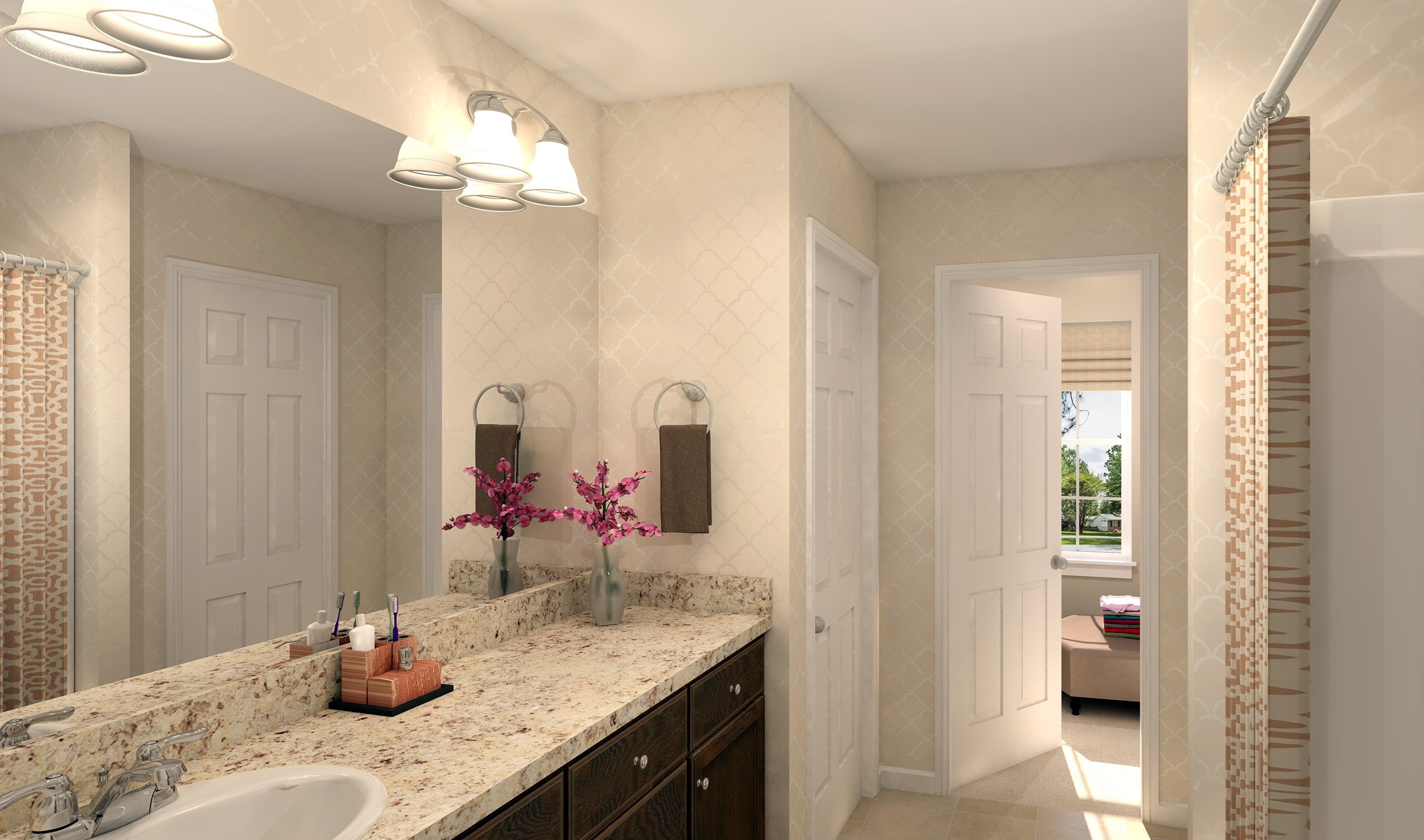 Bathroom featured in the Prescott By K. Hovnanian® Homes - Build on Your Lot in Toledo, OH