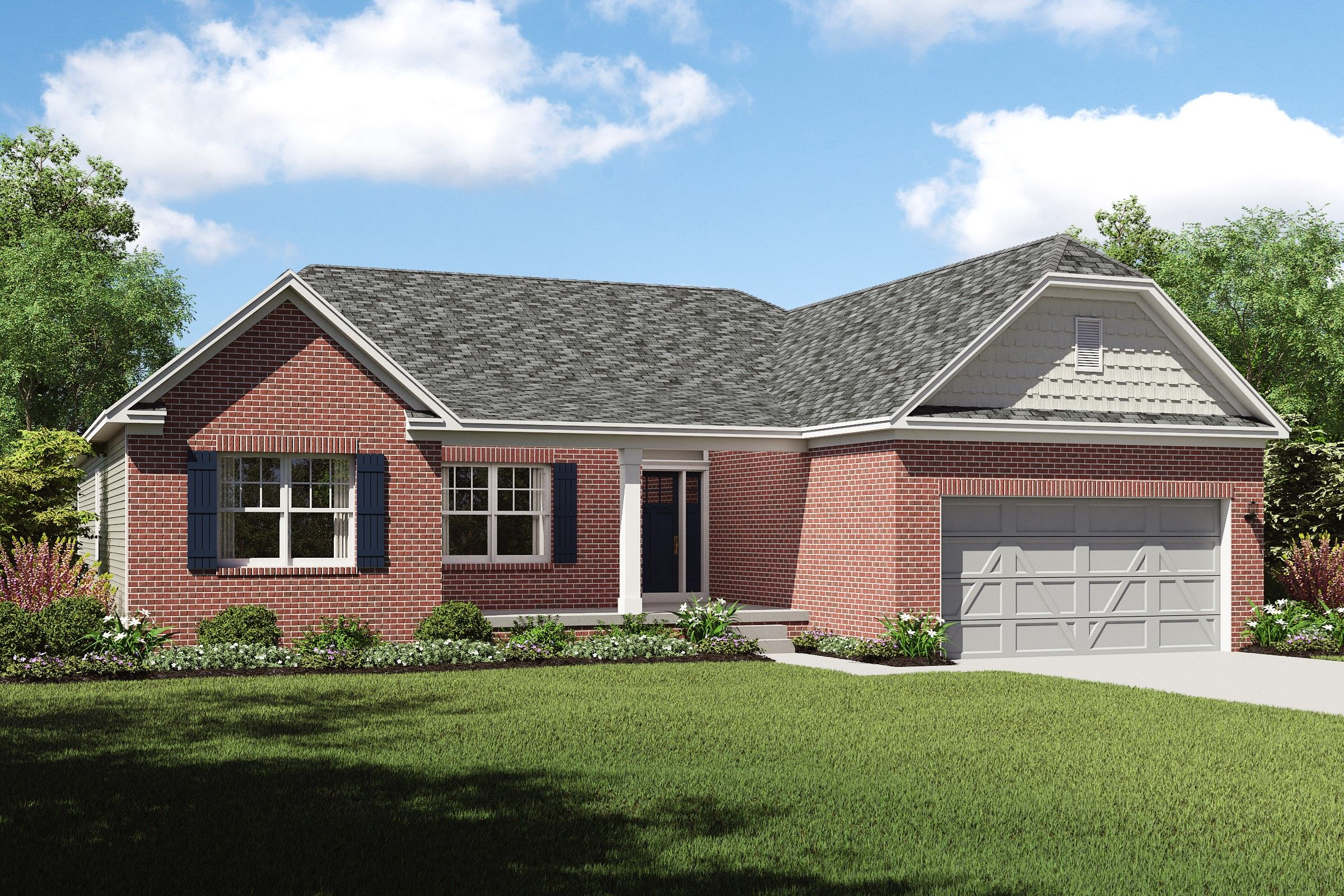 Exterior featured in the Bennett By K. Hovnanian® Homes - Build on Your Lot
