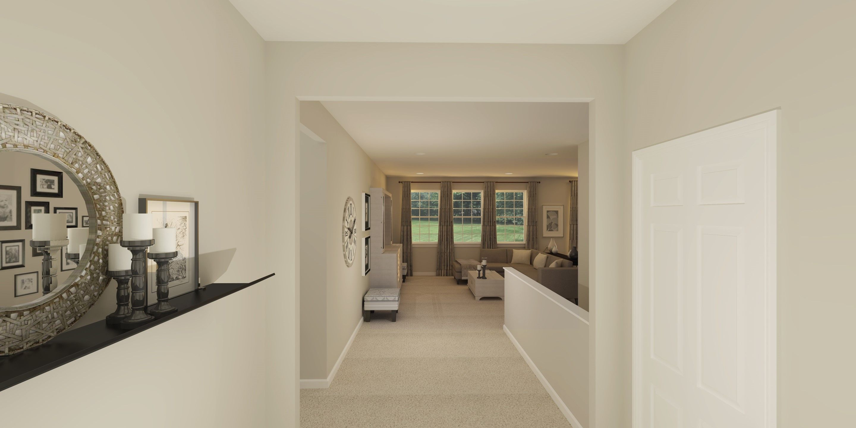 Living Area featured in the Bennett By K. Hovnanian® Homes - Build on Your Lot