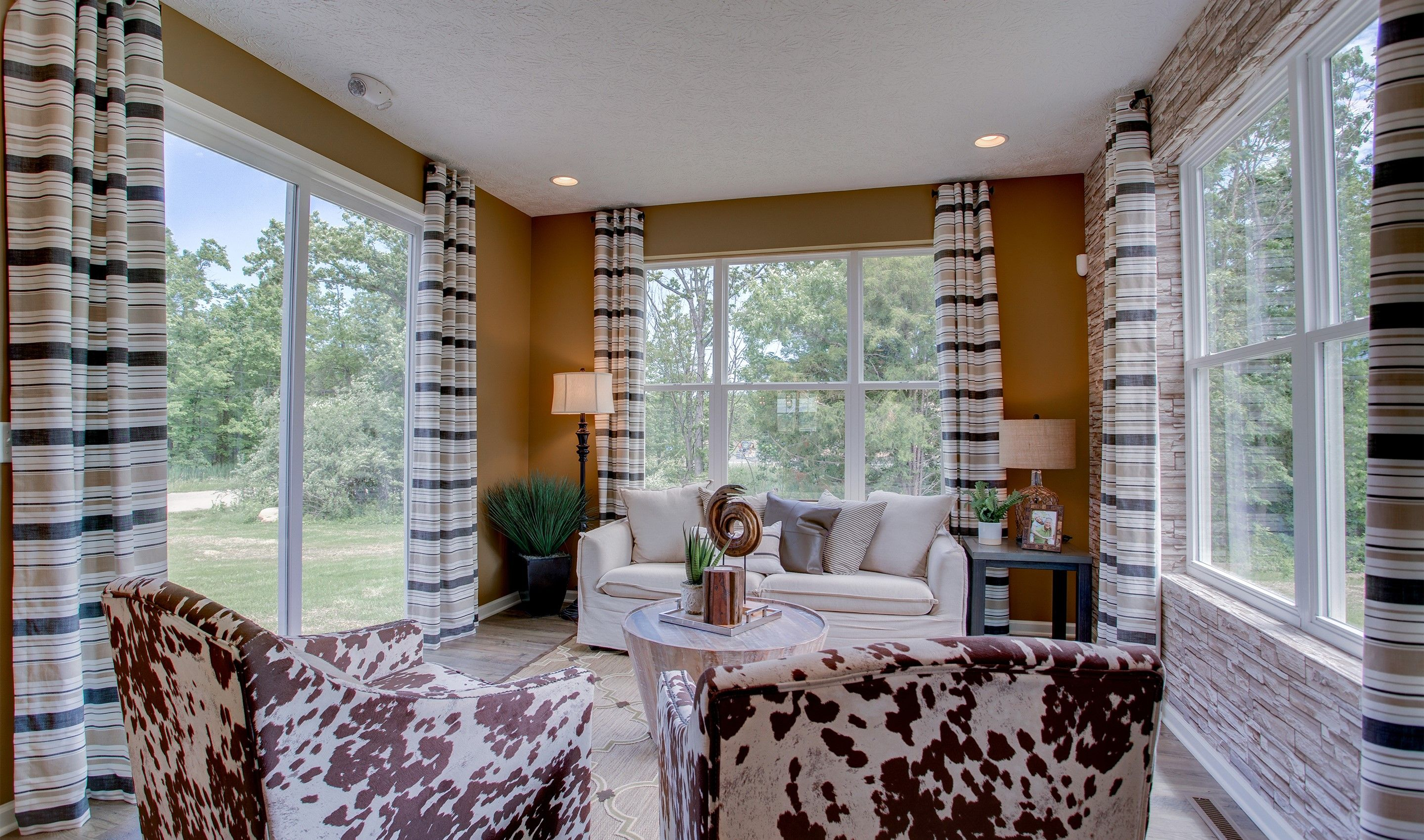 Living Area featured in the Sedgwick By K. Hovnanian® Homes - Build on Your Lot in Mansfield, OH