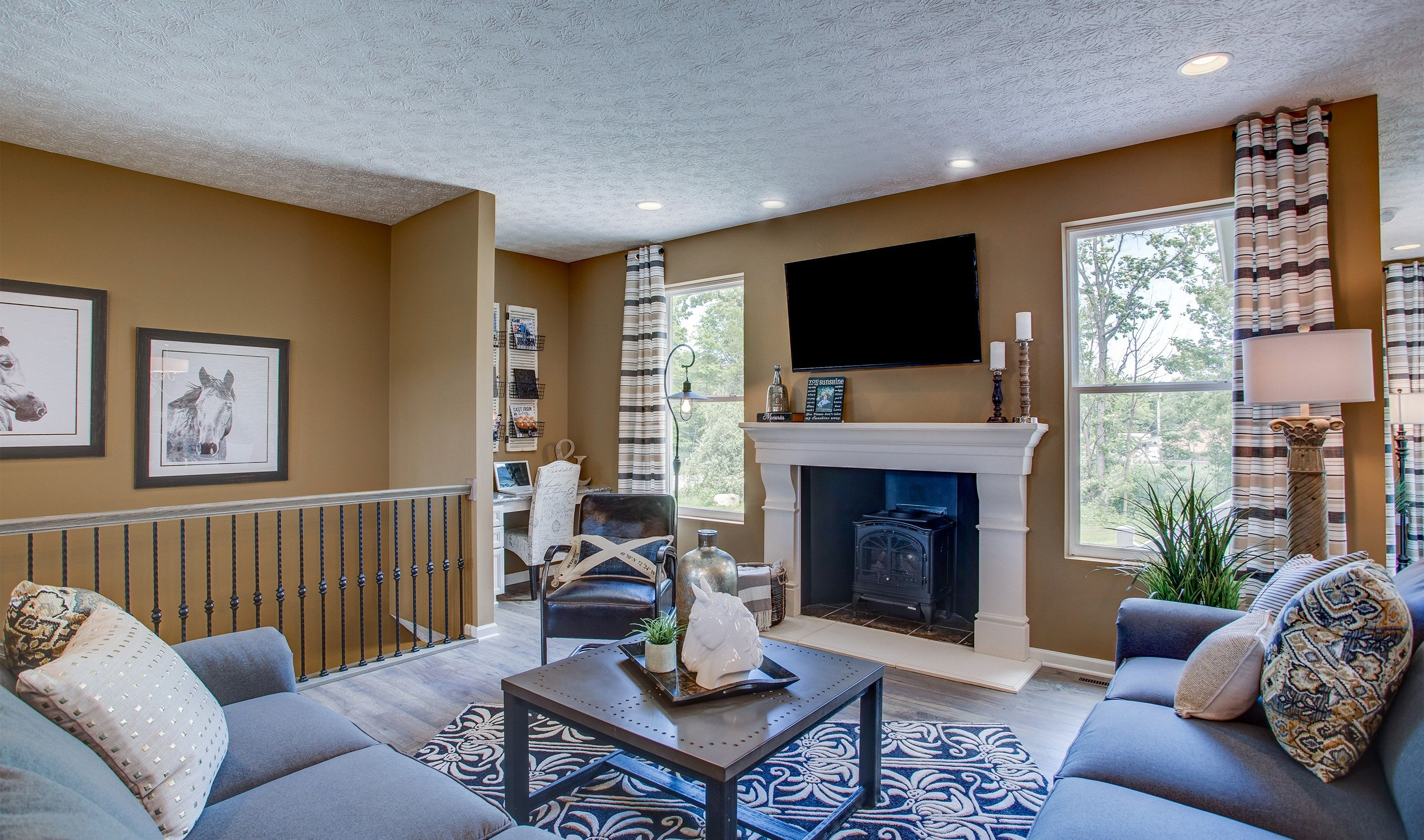 Living Area featured in the Sedgwick By K. Hovnanian® Homes - Build on Your Lot in Toledo, OH