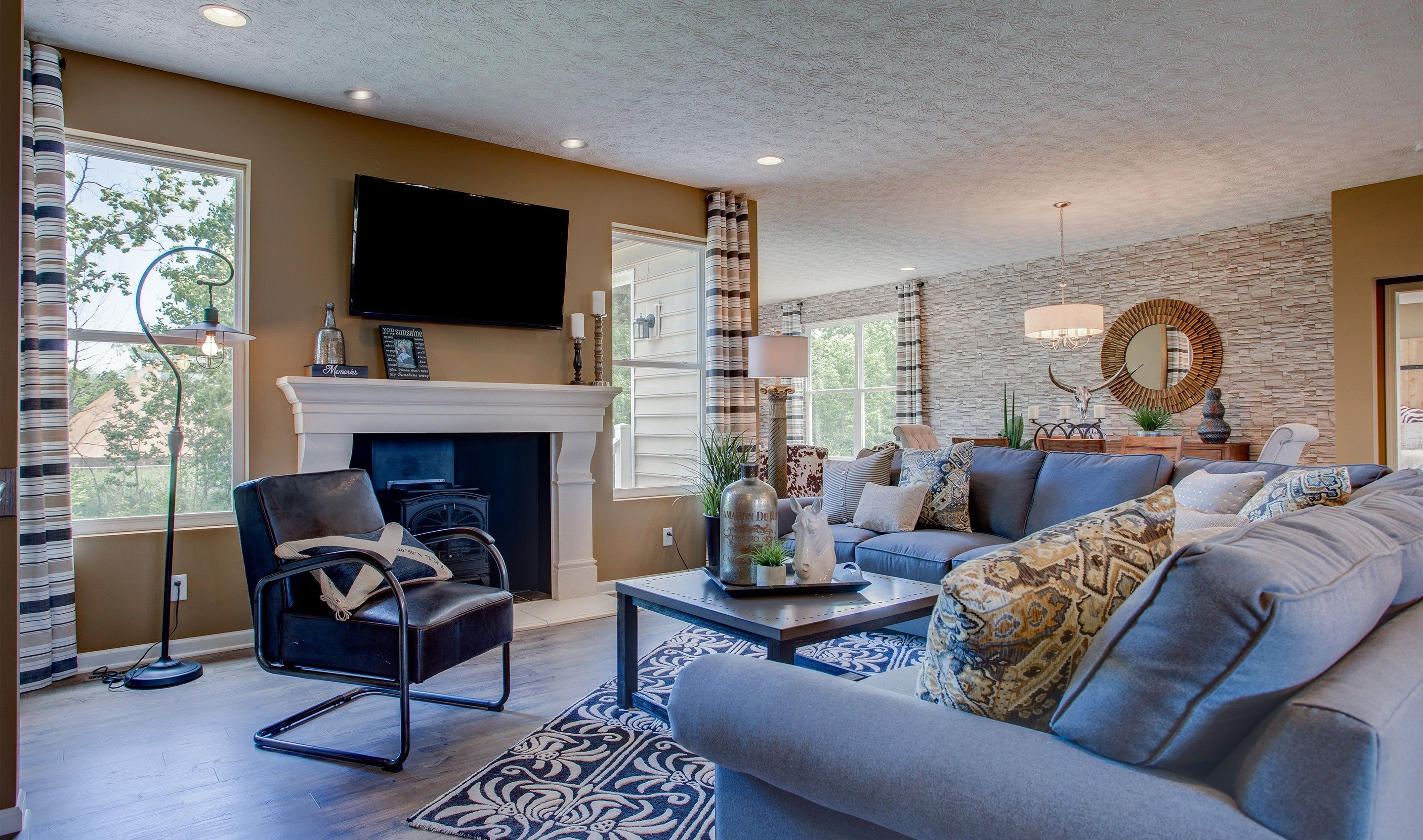 Living Area featured in the Sedgwick By K. Hovnanian® Homes - Build on Your Lot in Columbus, OH