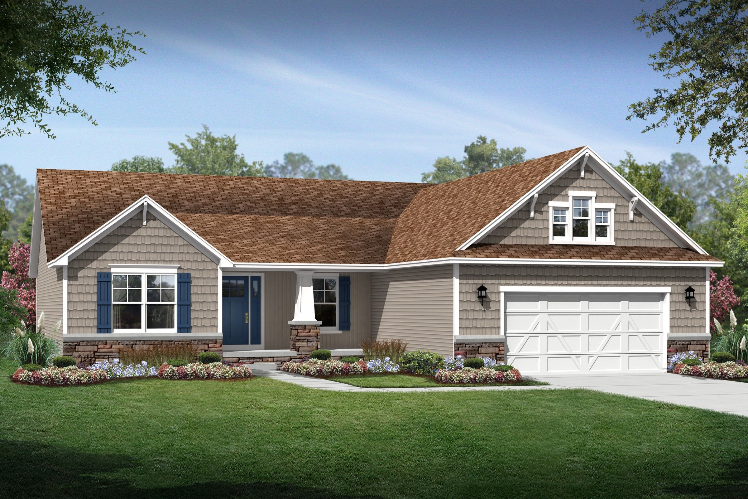 Exterior featured in the Hartland By K. Hovnanian® Homes - Build on Your Lot in Toledo, OH