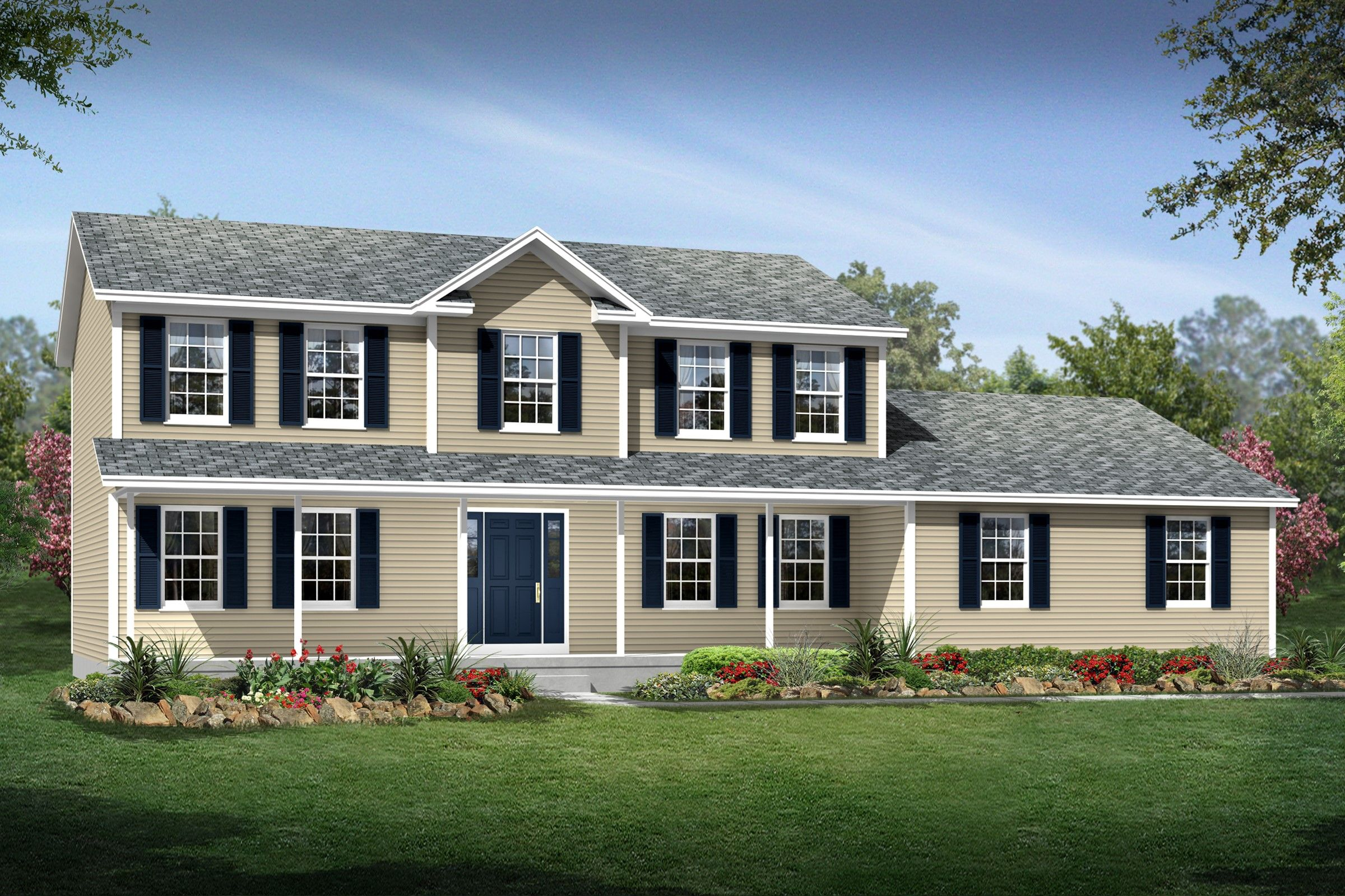 Exterior featured in the New Hampshire By K. Hovnanian® Homes - Build on Your Lot