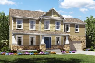 Olvera II - Delaware Design Studio: Sunbury, Ohio - K. Hovnanian® Homes - Build on Your Lot