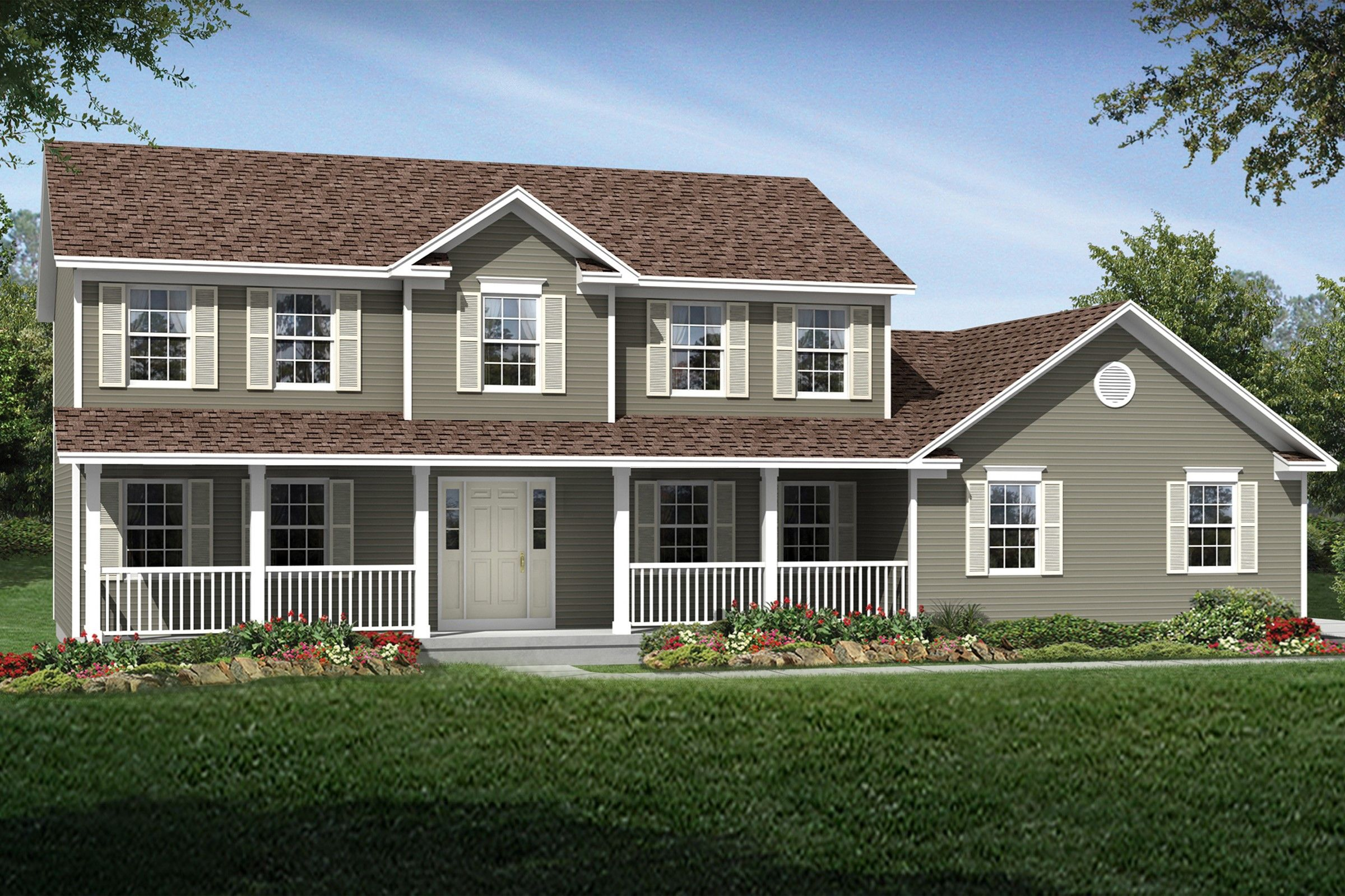 Exterior featured in the Oakwood By K. Hovnanian® Homes - Build on Your Lot in Toledo, OH