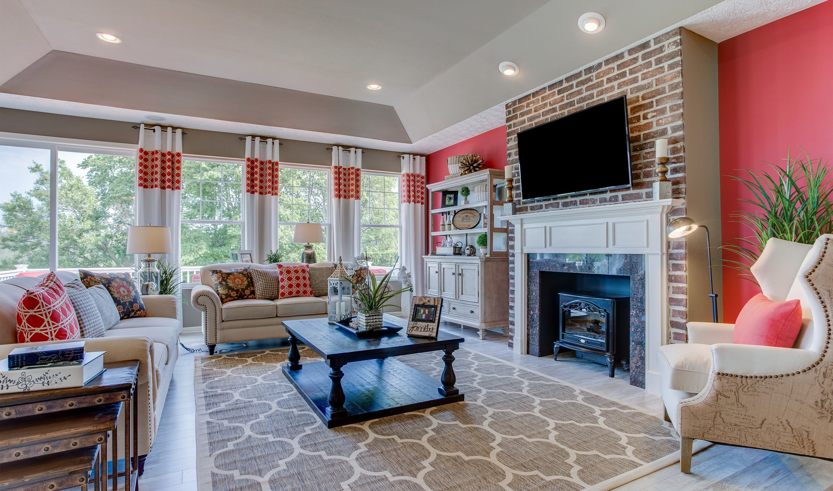 Living Area featured in the Rockford By K. Hovnanian® Homes - Build on Your Lot in Toledo, OH