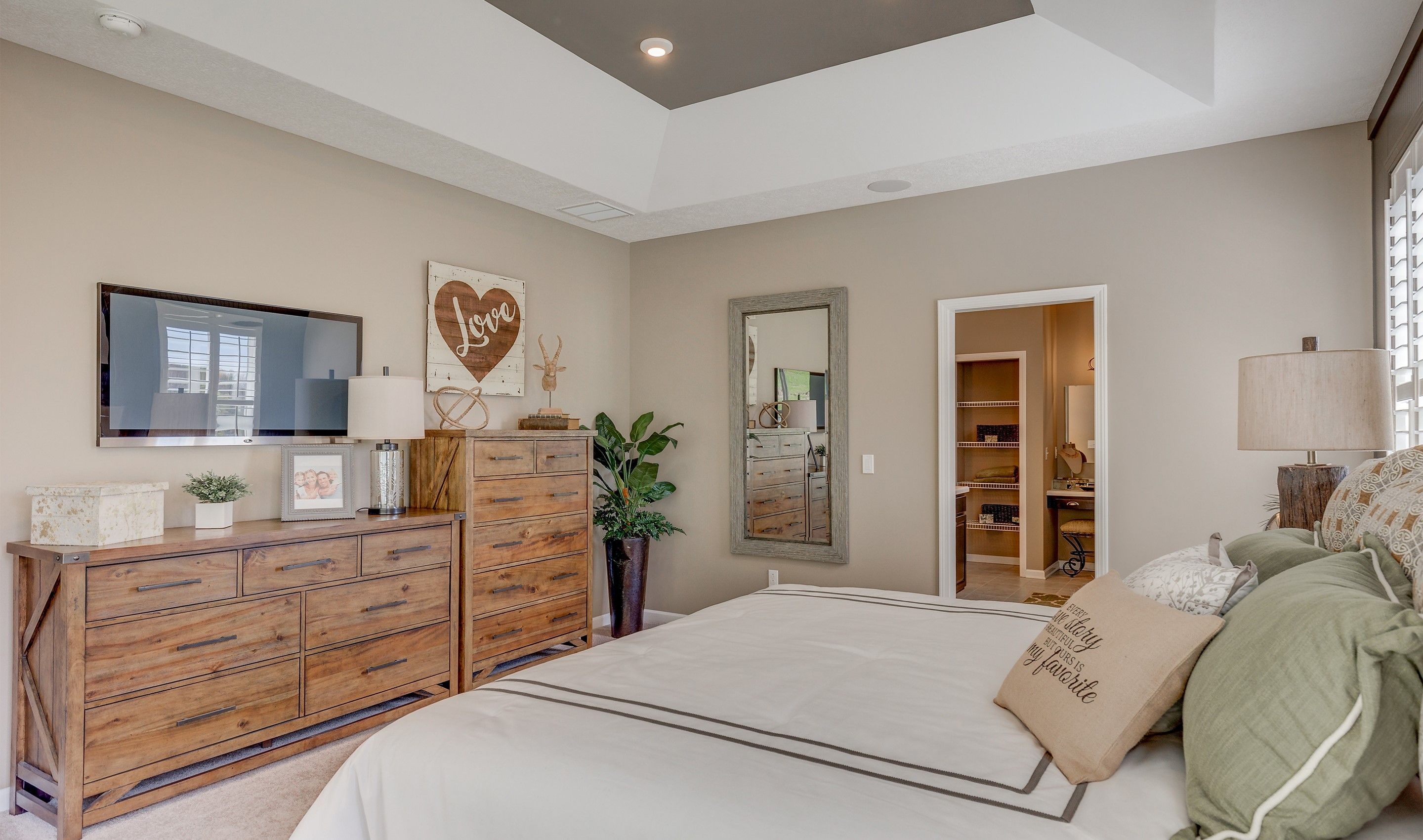 Bedroom featured in the Gable By K. Hovnanian® Homes - Build on Your Lot in Toledo, OH