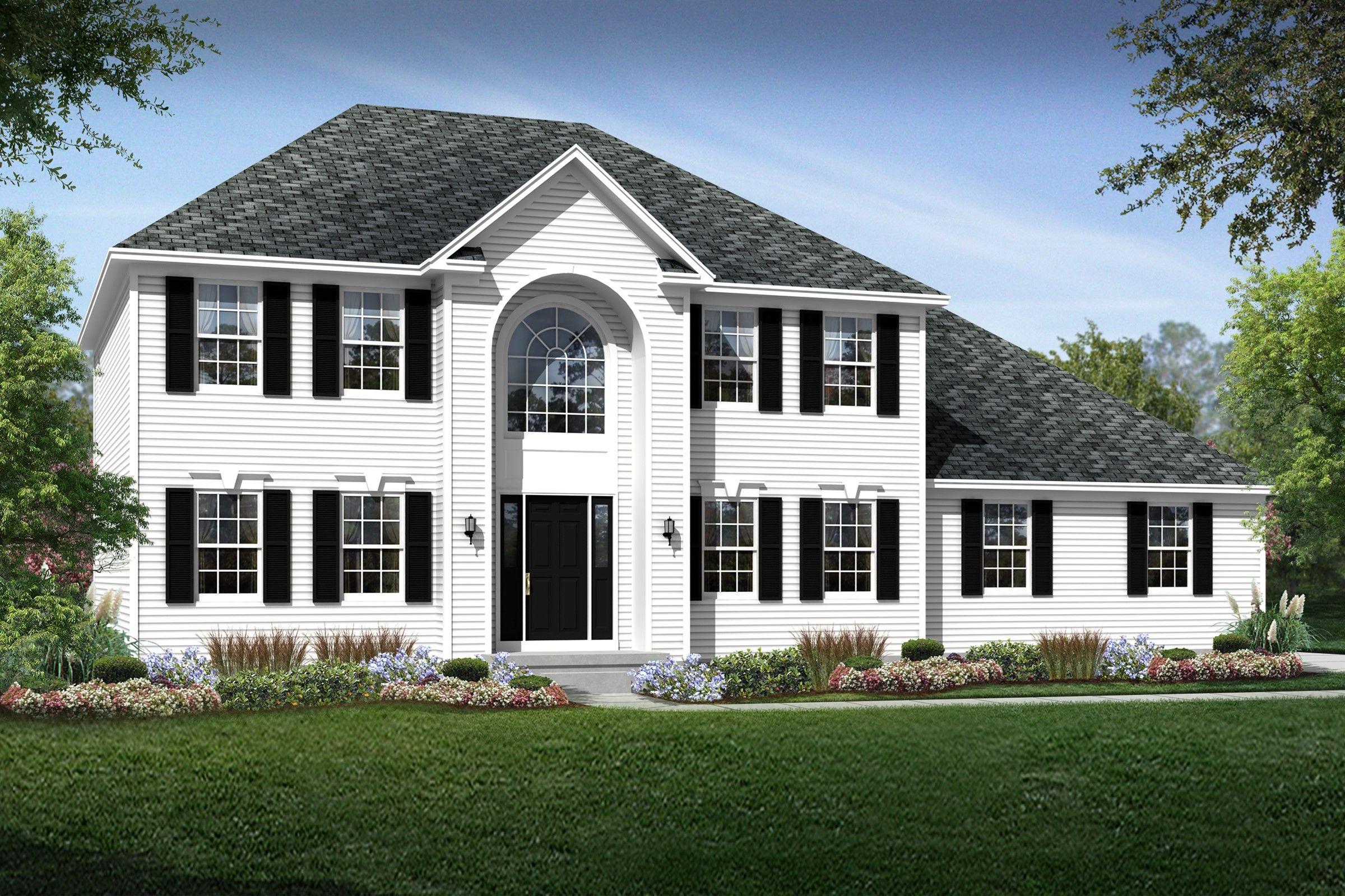 Exterior featured in the Beachwood By K. Hovnanian® Homes - Build on Your Lot