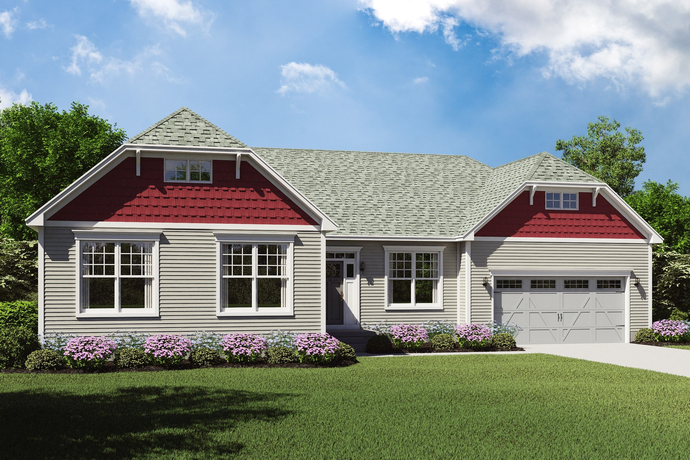 Exterior featured in the Faulkner By K. Hovnanian® Homes - Build on Your Lot in Pittsburgh, PA
