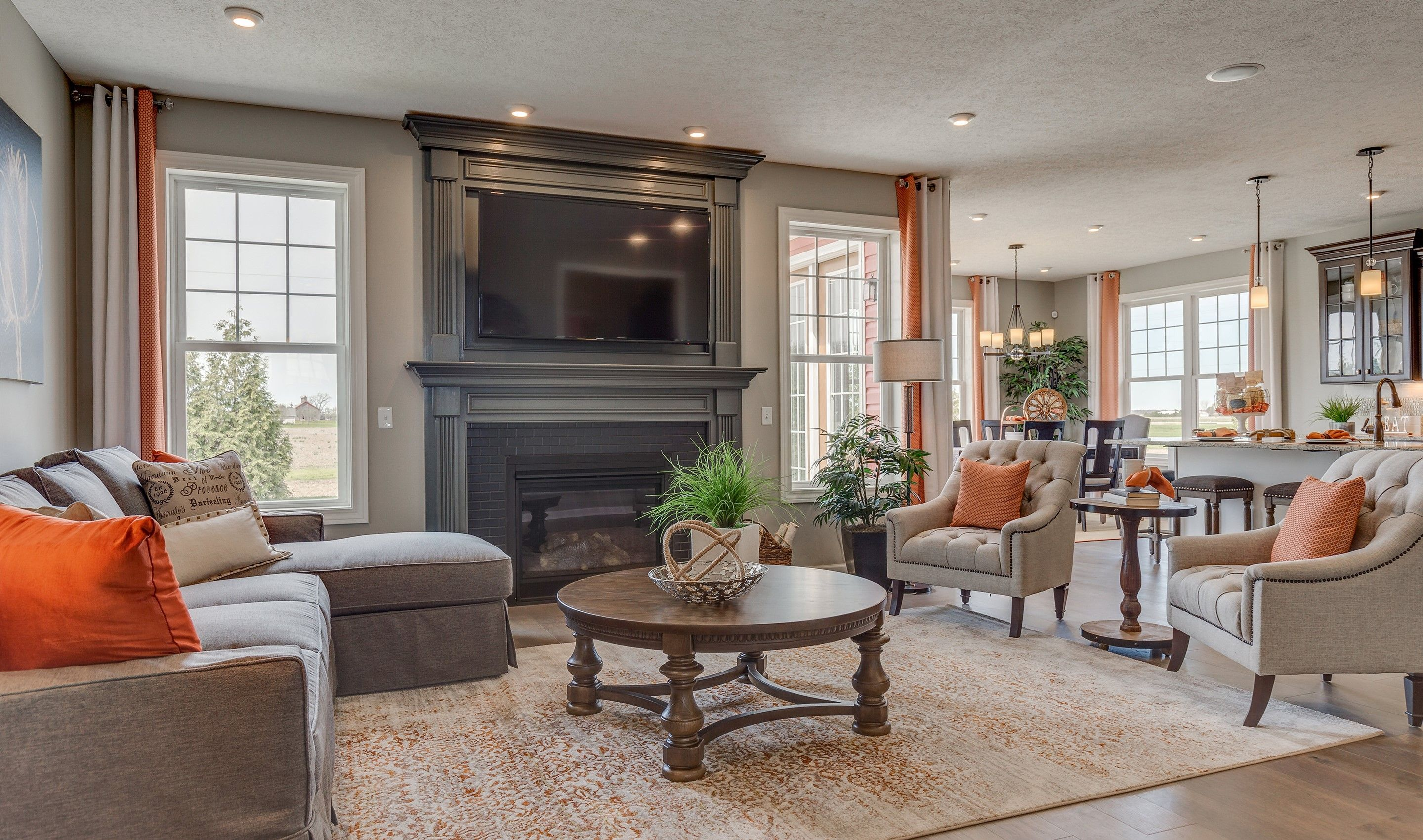 Living Area featured in the Faulkner By K. Hovnanian® Homes - Build on Your Lot in Mansfield, OH