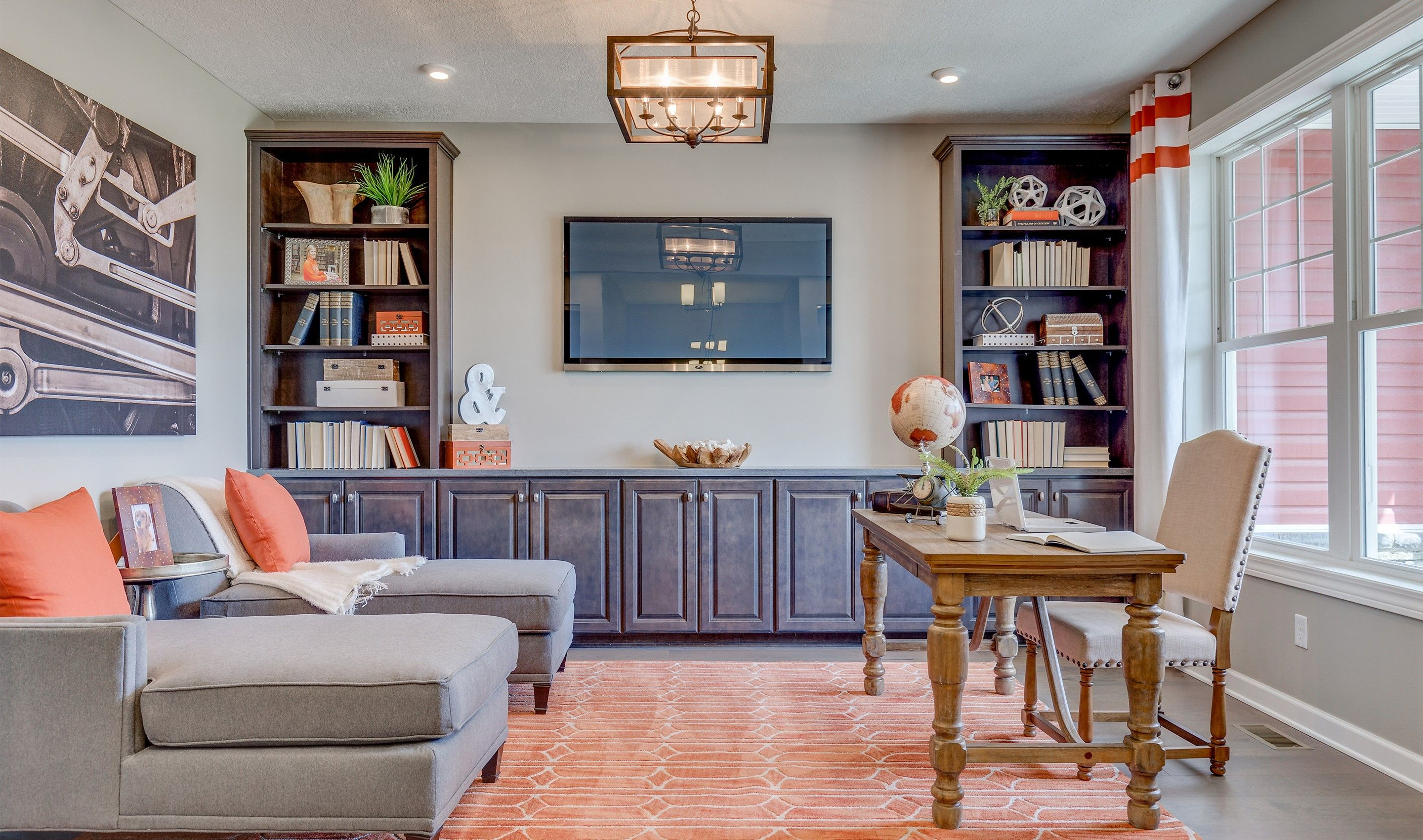 Living Area featured in the Faulkner By K. Hovnanian® Homes - Build on Your Lot in Toledo, OH