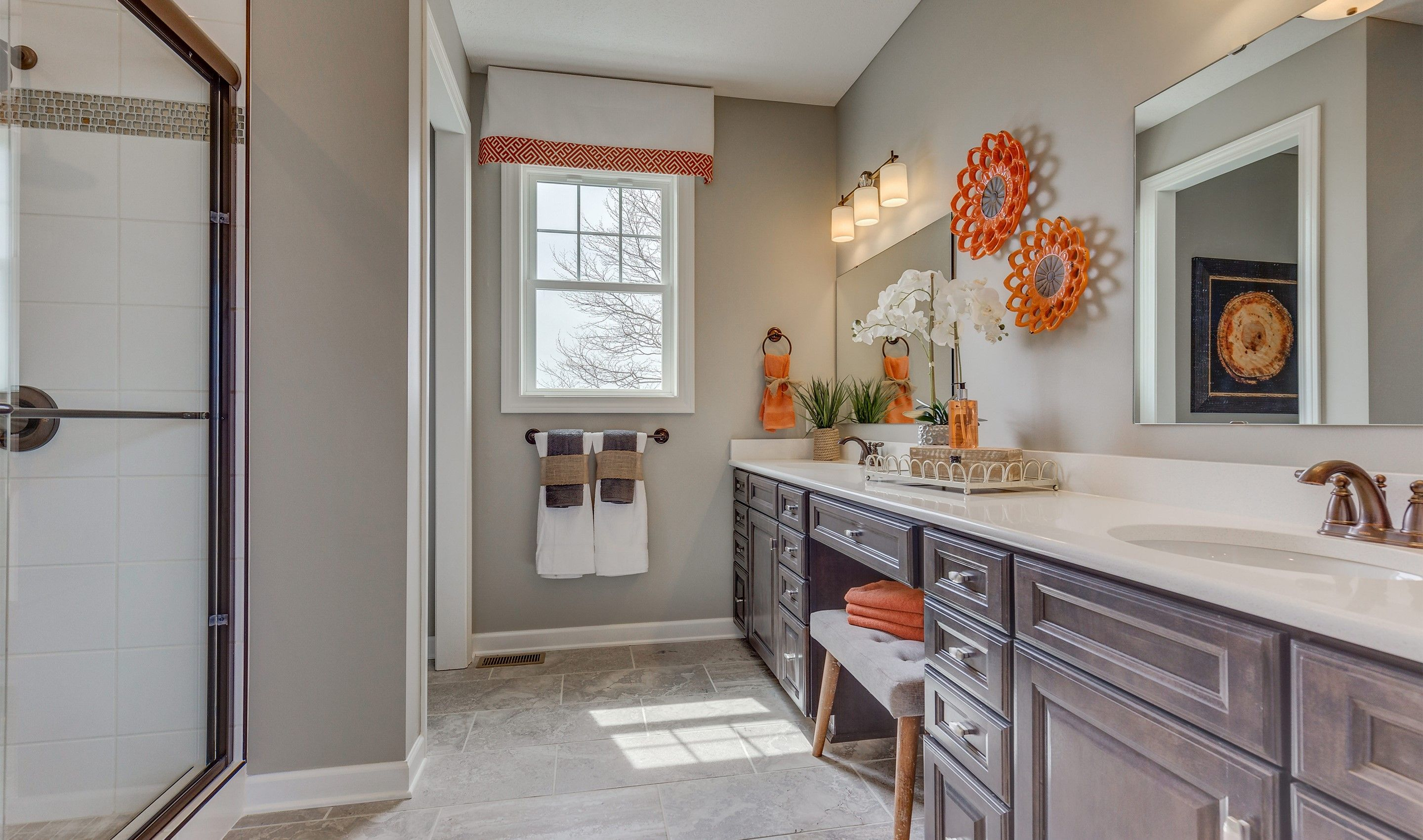 Bathroom featured in the Faulkner By K. Hovnanian® Homes - Build on Your Lot