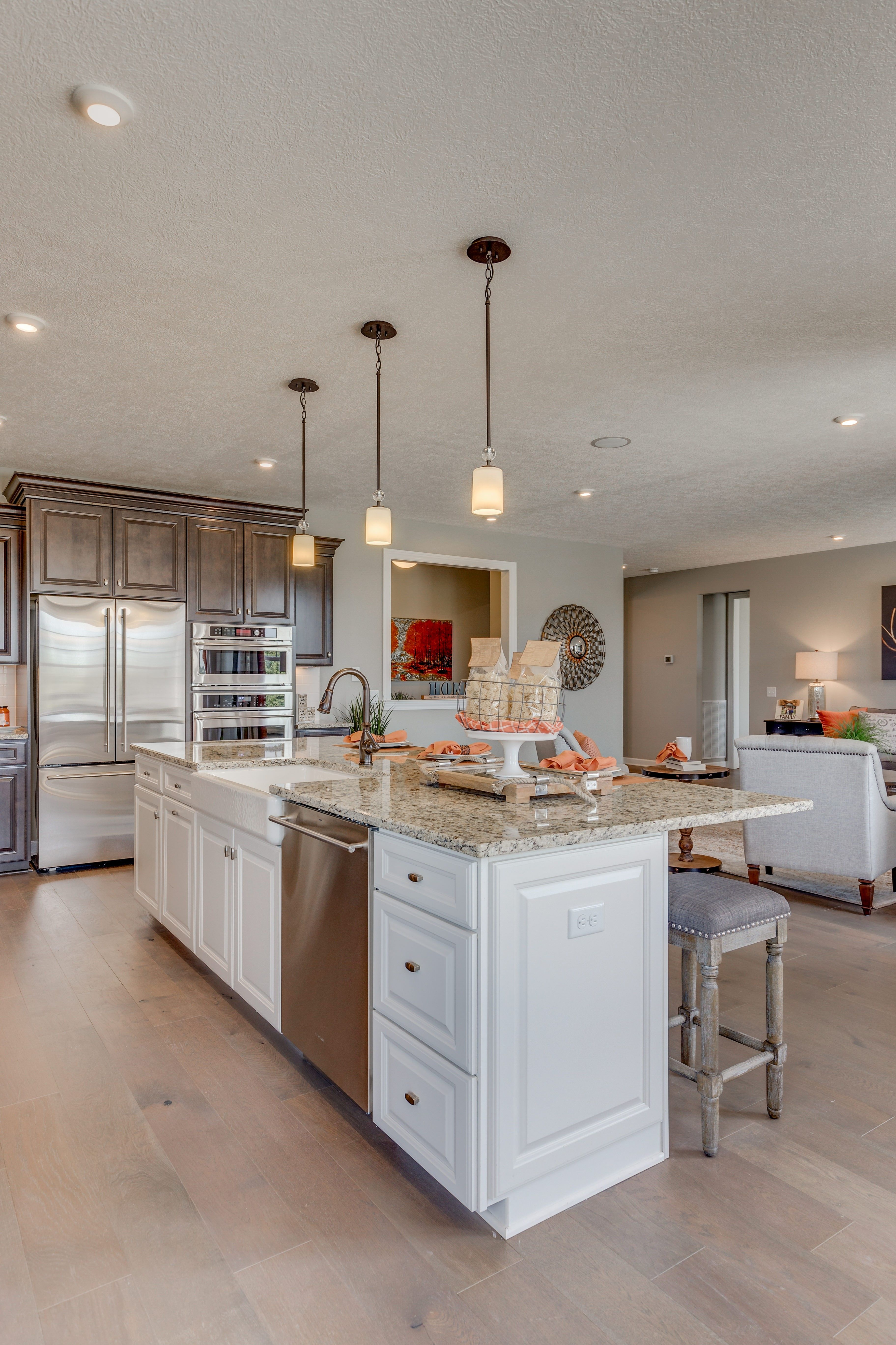 Kitchen featured in the Faulkner By K. Hovnanian® Homes - Build on Your Lot in Toledo, OH