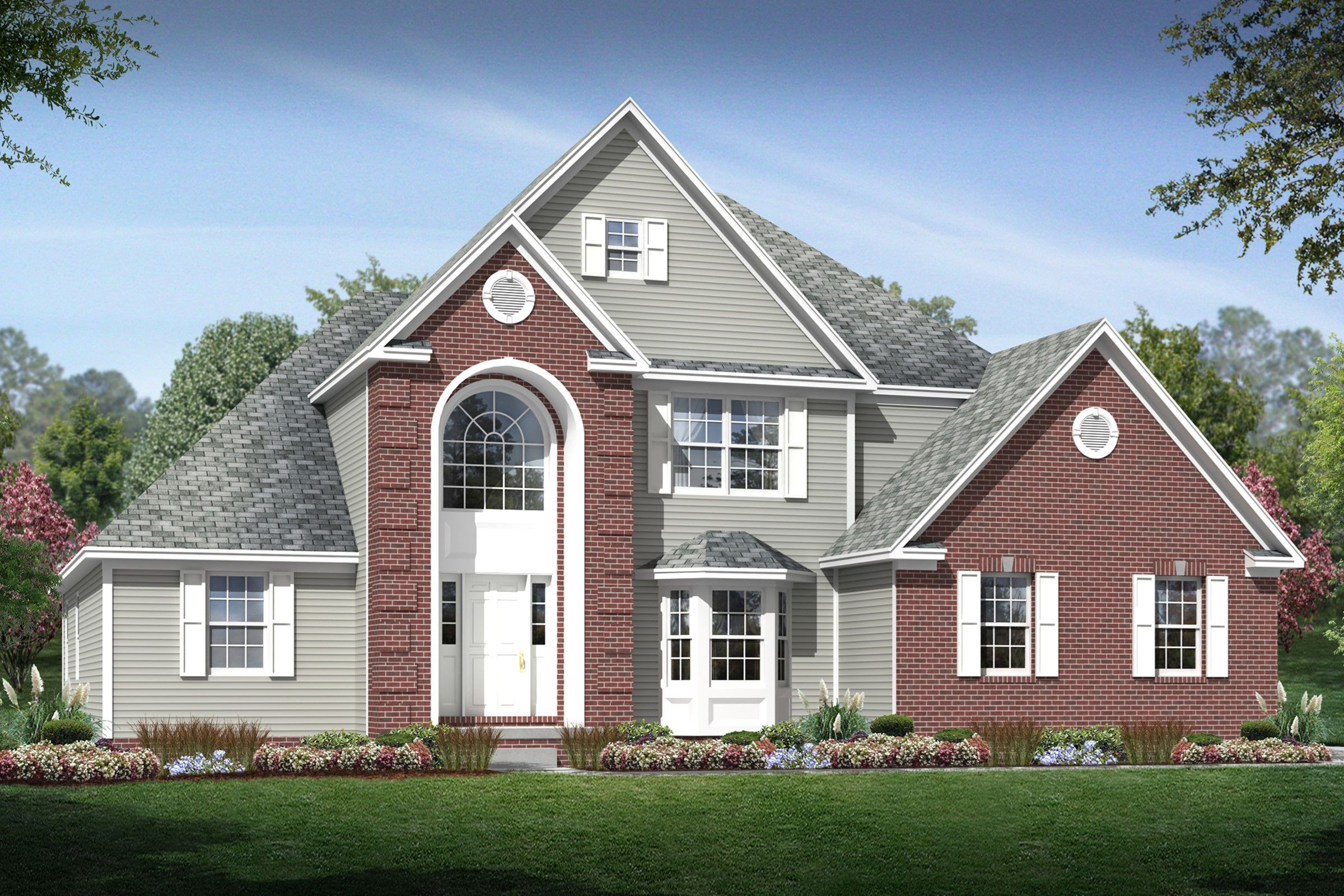 Exterior featured in the McKinley By K. Hovnanian® Homes - Build on Your Lot