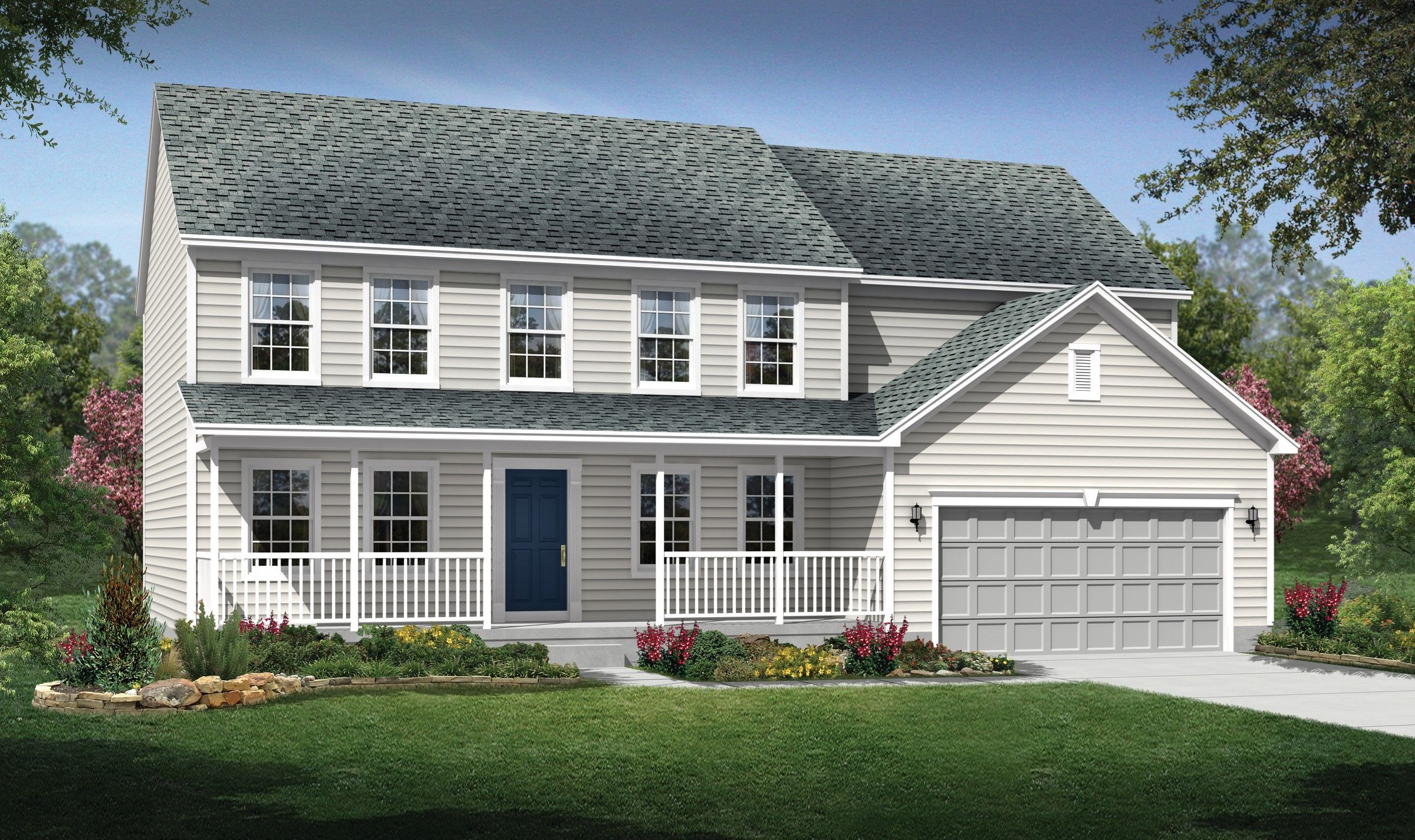 Exterior featured in the Philadelphia By K. Hovnanian® Homes - Build on Your Lot in Toledo, OH