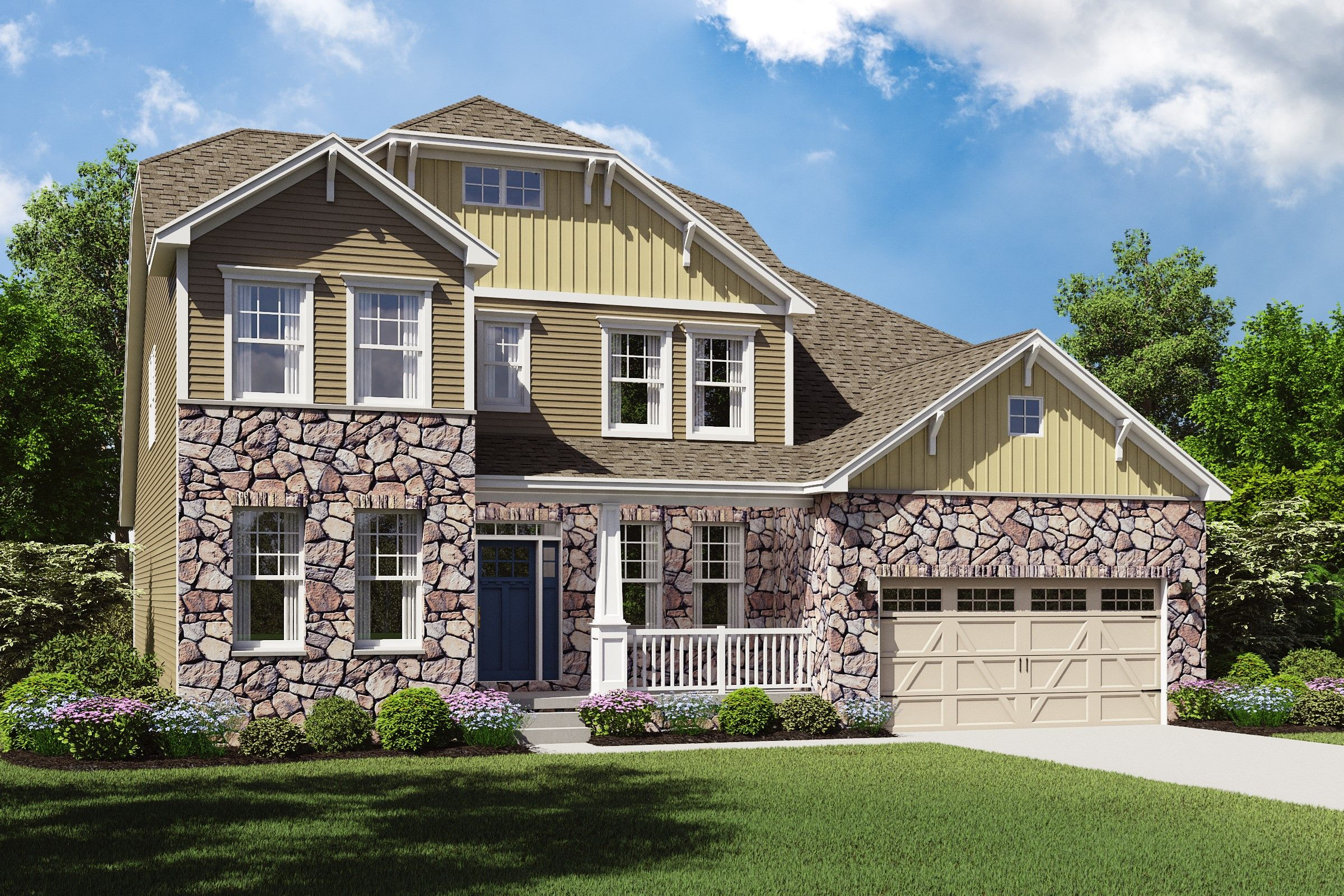 Exterior featured in the Baltimore By K. Hovnanian® Homes - Build on Your Lot in Toledo, OH