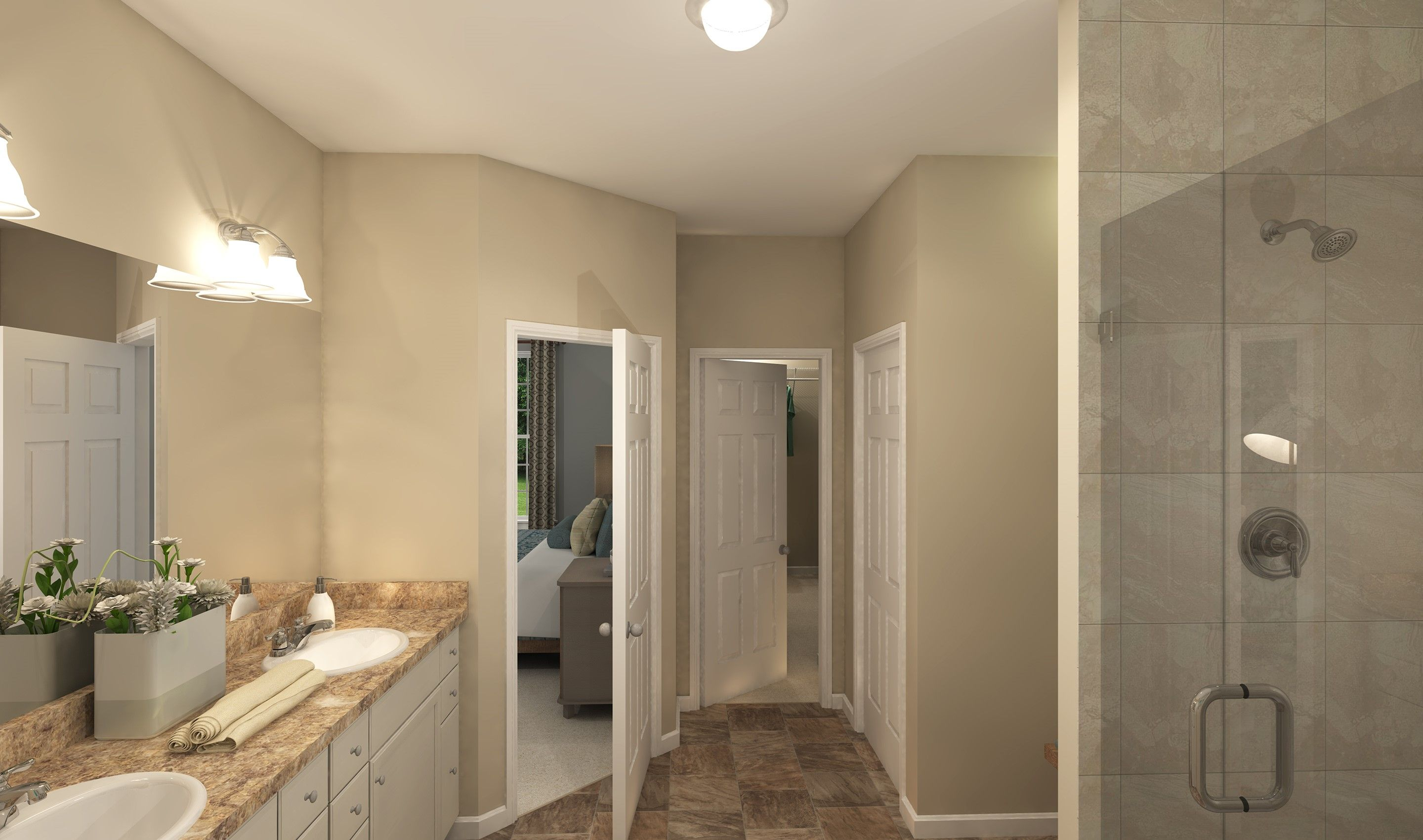 Bathroom featured in the Baltimore By K. Hovnanian® Homes - Build on Your Lot