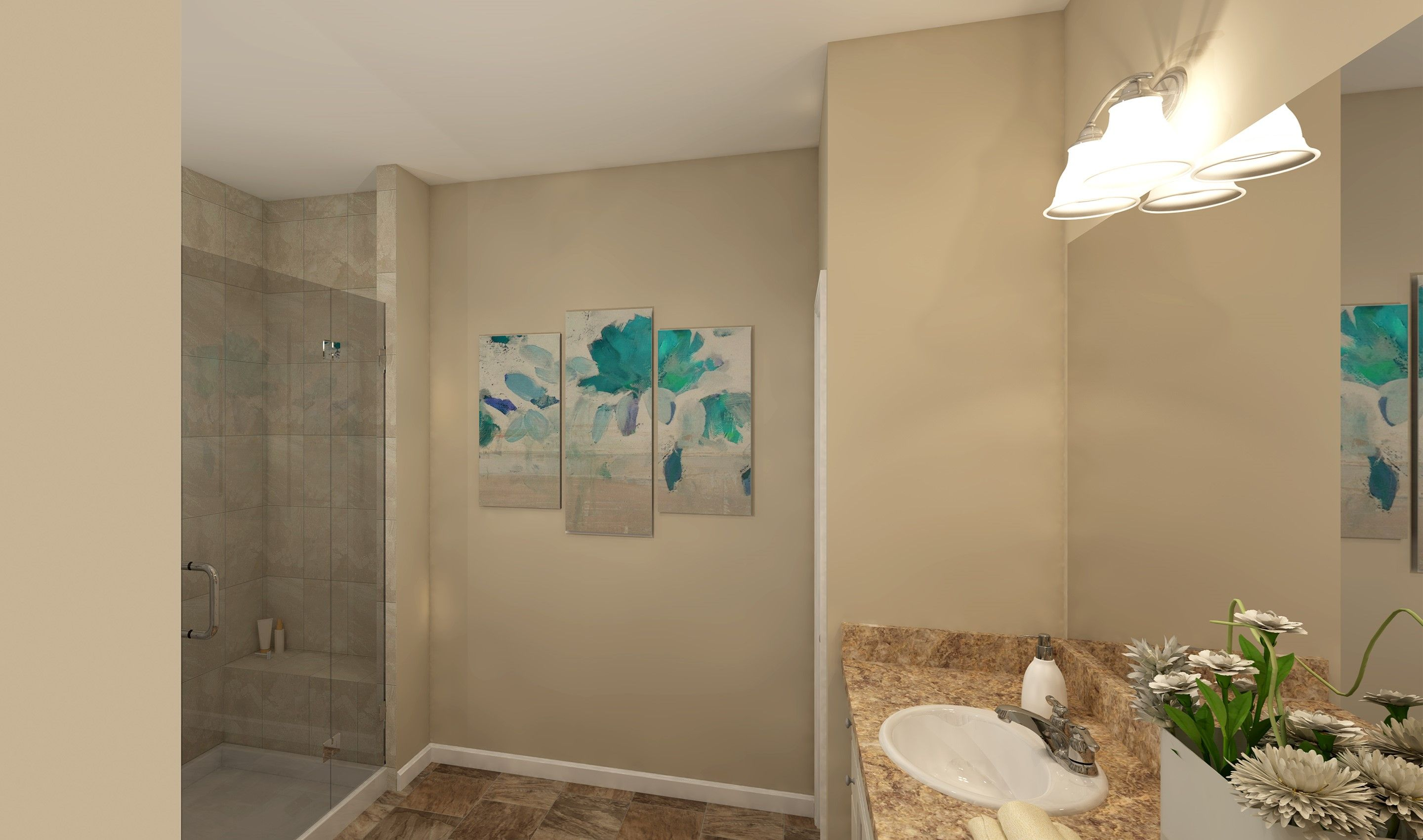 Bathroom featured in the Baltimore By K. Hovnanian® Homes - Build on Your Lot in Toledo, OH