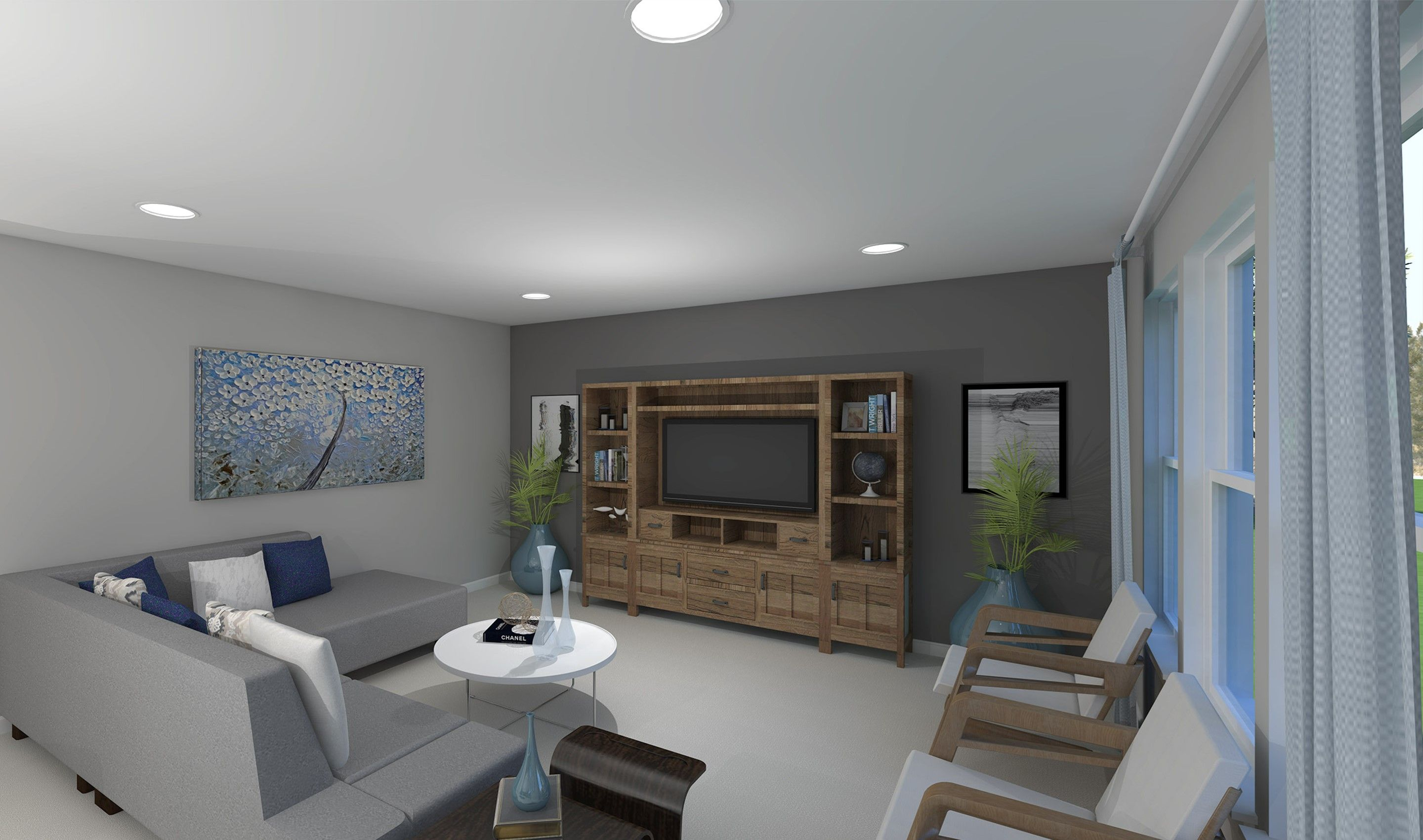 Living Area featured in the Wright By K. Hovnanian® Homes - Build on Your Lot in Mansfield, OH