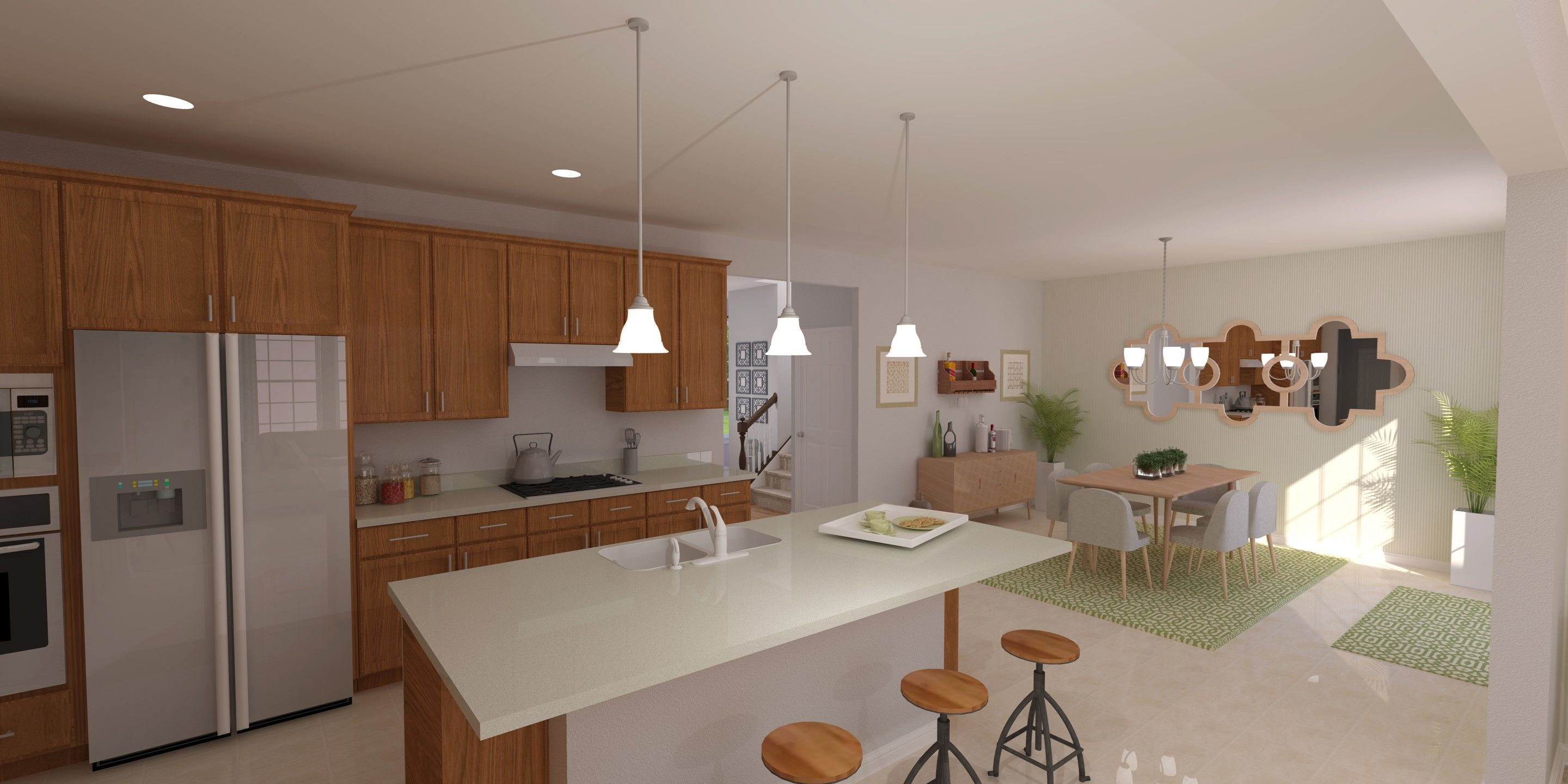 Kitchen featured in the Pendleton By K. Hovnanian® Homes - Build on Your Lot in Mansfield, OH