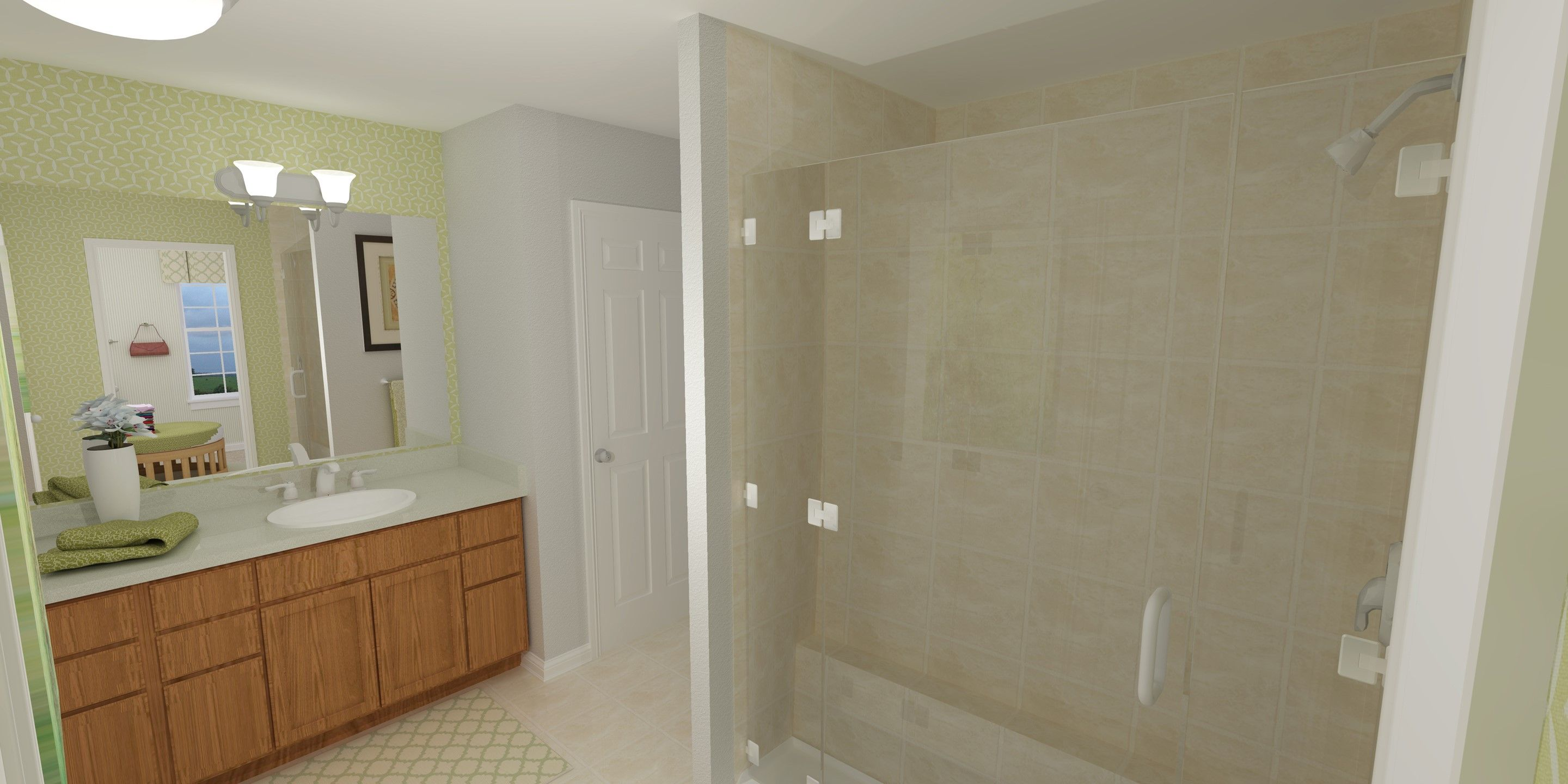 Bathroom featured in the Pendleton By K. Hovnanian® Homes - Build on Your Lot