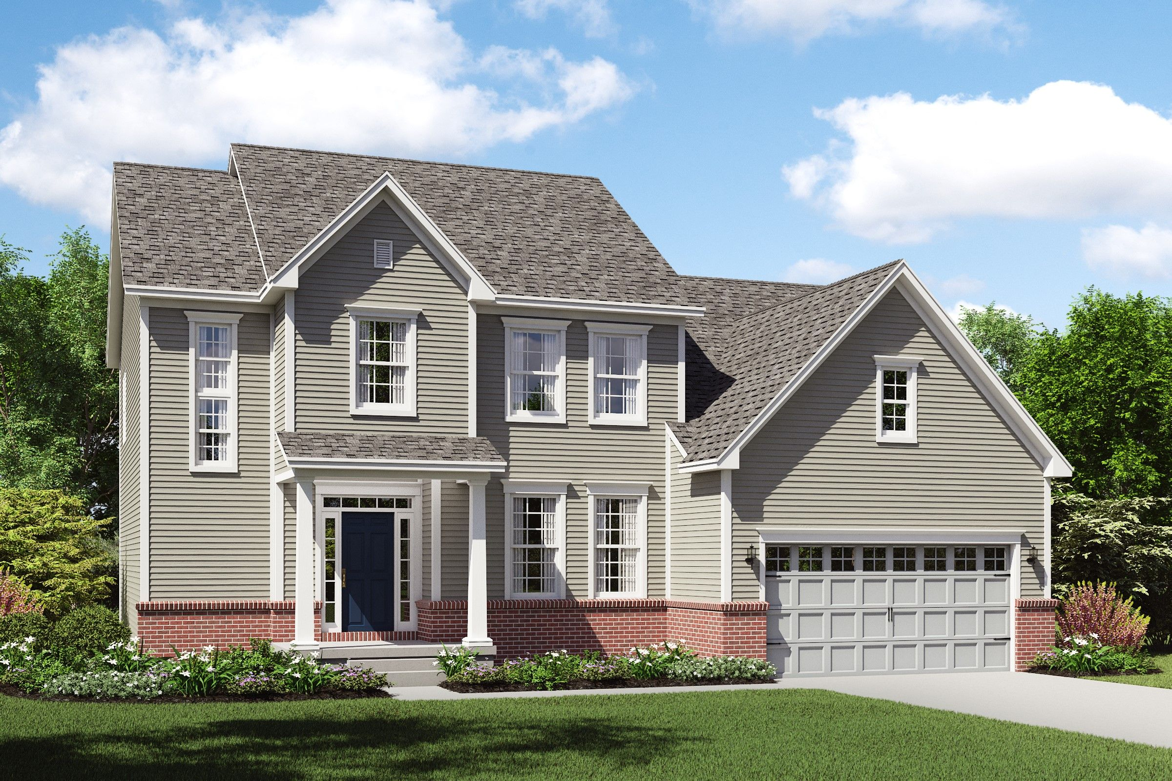 Exterior featured in the Charlottesville By K. Hovnanian® Homes - Build on Your Lot