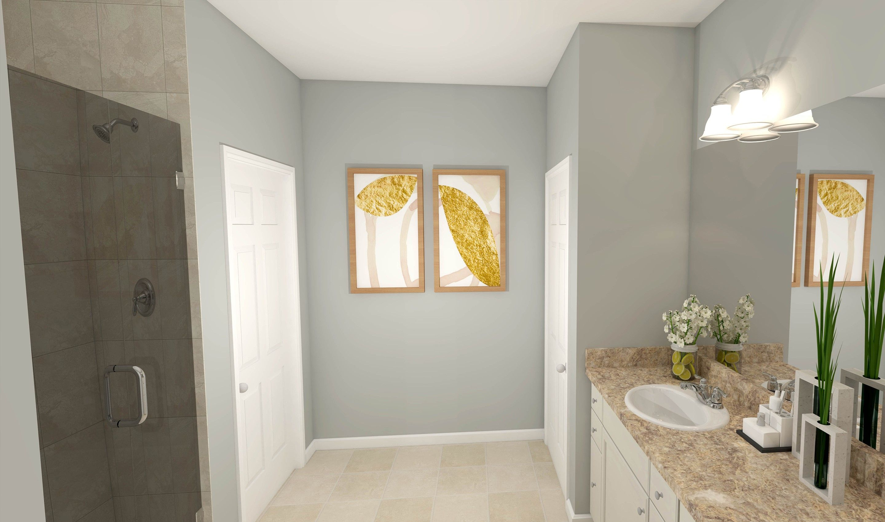 Bathroom featured in the Charlottesville By K. Hovnanian® Homes - Build on Your Lot in Columbus, OH