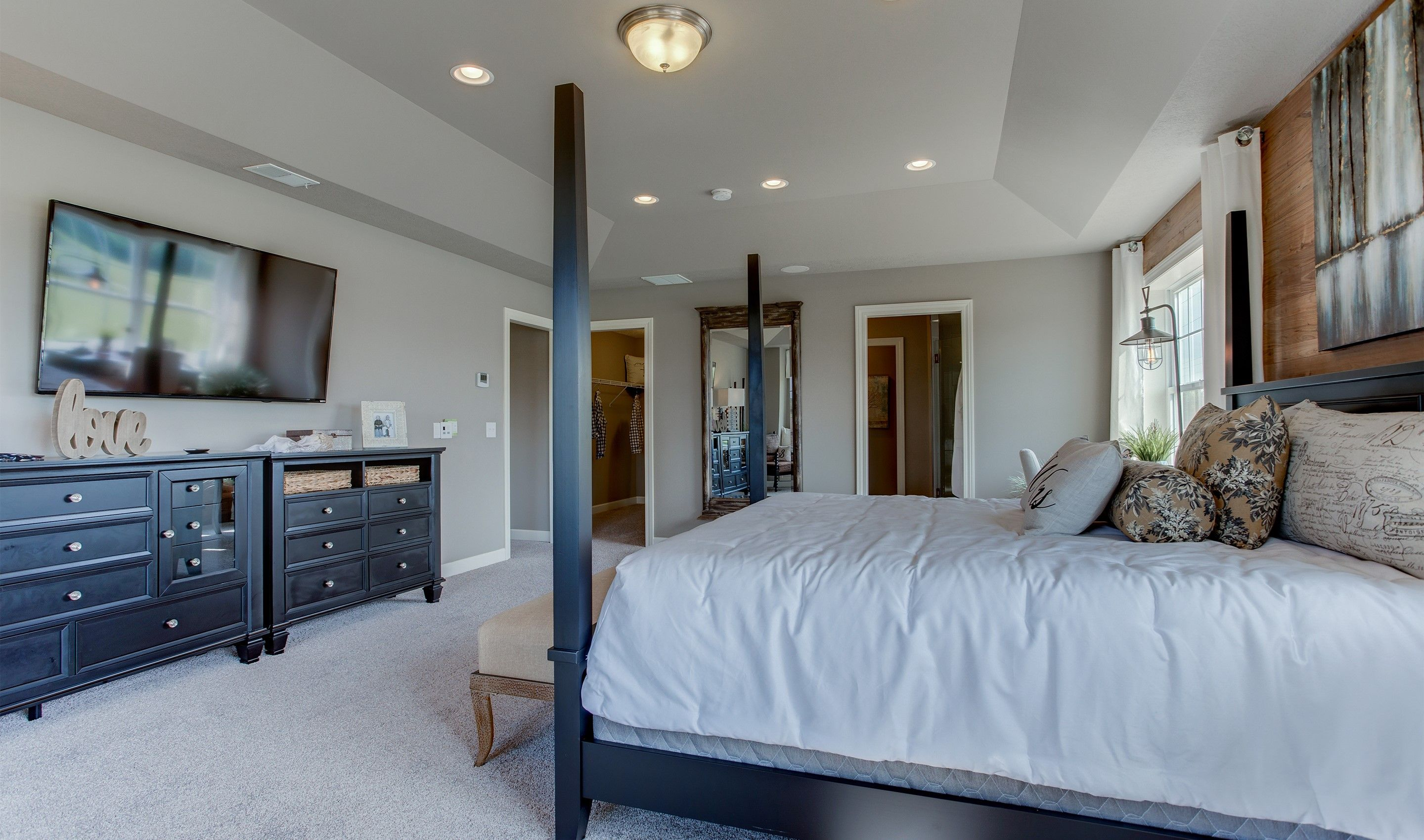Bedroom featured in the Dover By K. Hovnanian® Homes - Build on Your Lot in Canton-Massillon, OH