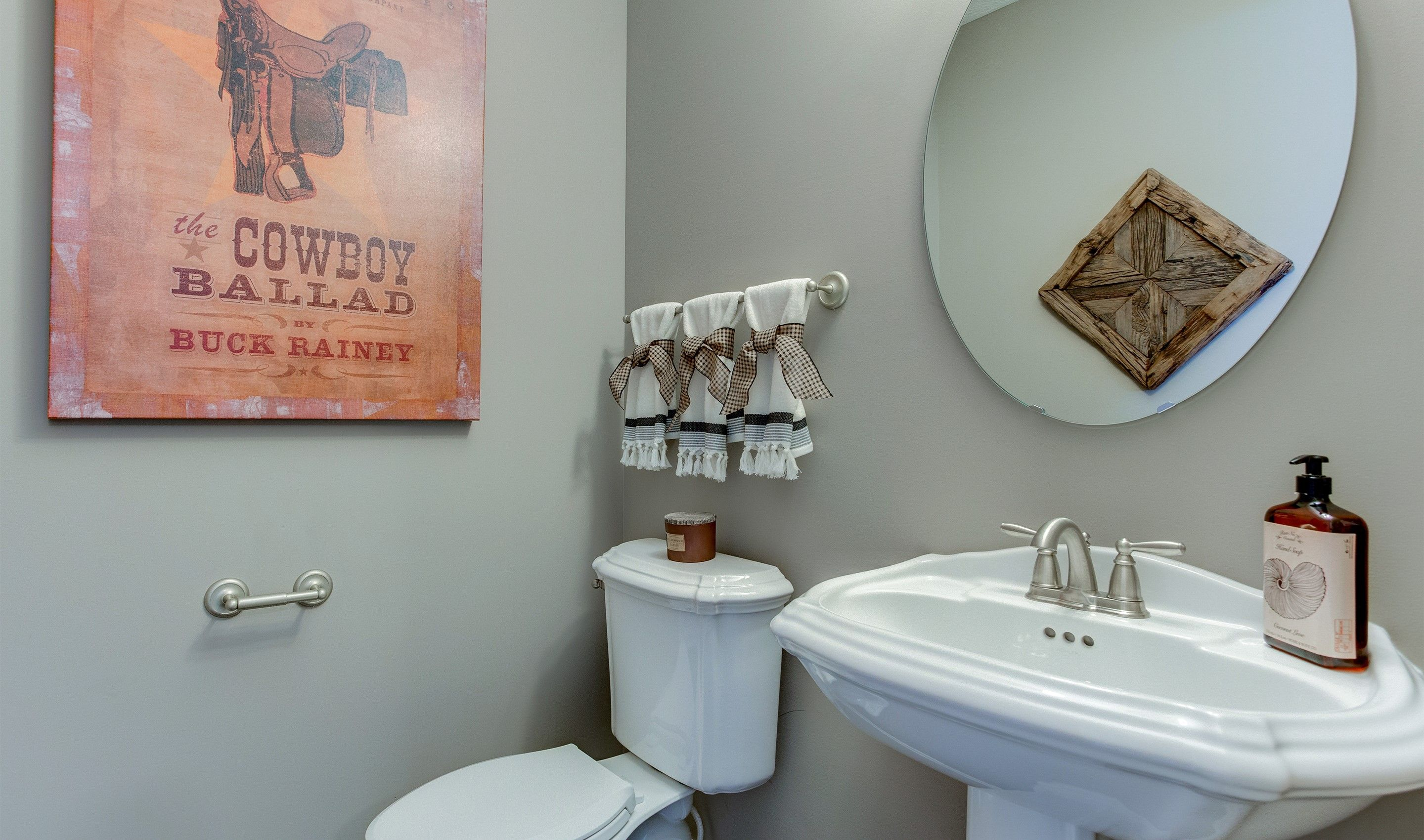 Bathroom featured in the Dover By K. Hovnanian® Homes - Build on Your Lot in Mansfield, OH