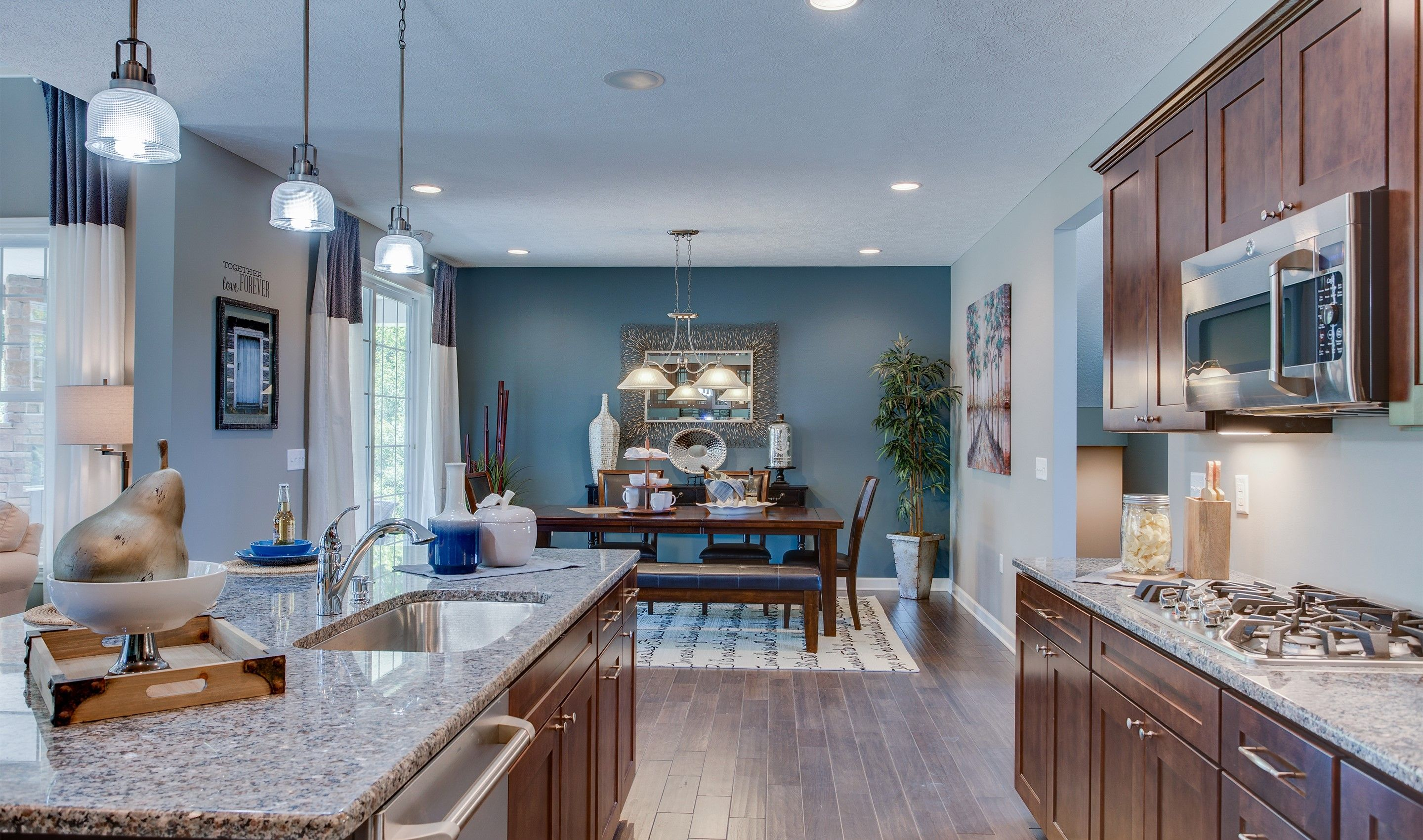 Living Area featured in the Pendleton II By K. Hovnanian® Homes - Build on Your Lot