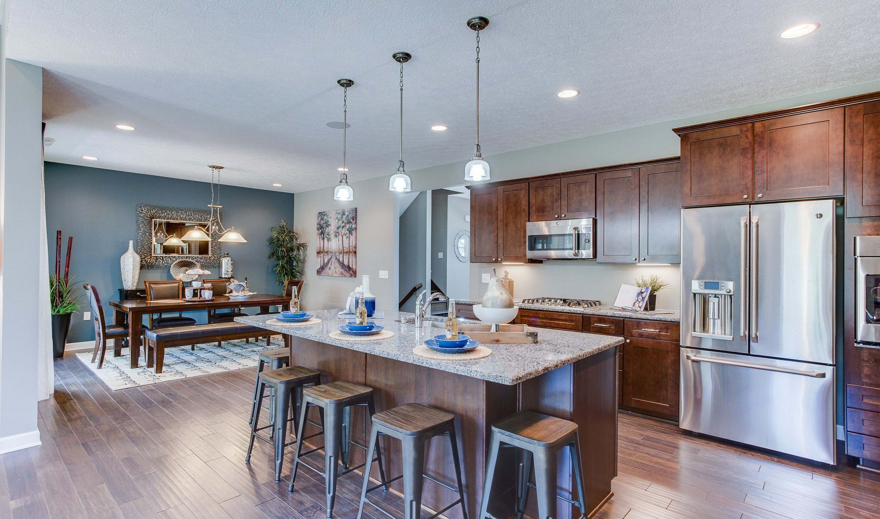 Kitchen featured in the Pendleton II By K. Hovnanian® Homes - Build on Your Lot in Toledo, OH