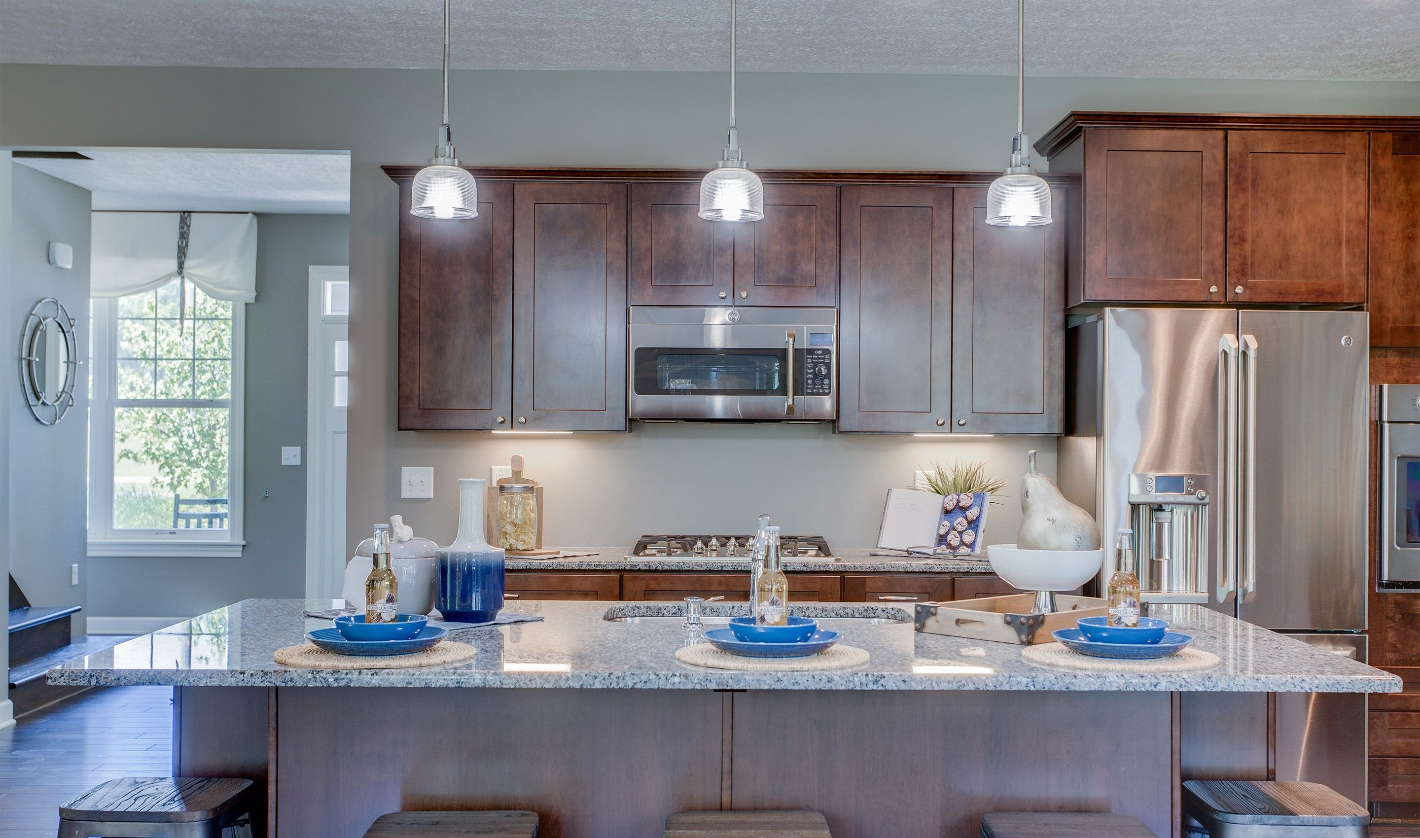 Kitchen featured in the Pendleton II By K. Hovnanian® Homes - Build on Your Lot in Mansfield, OH