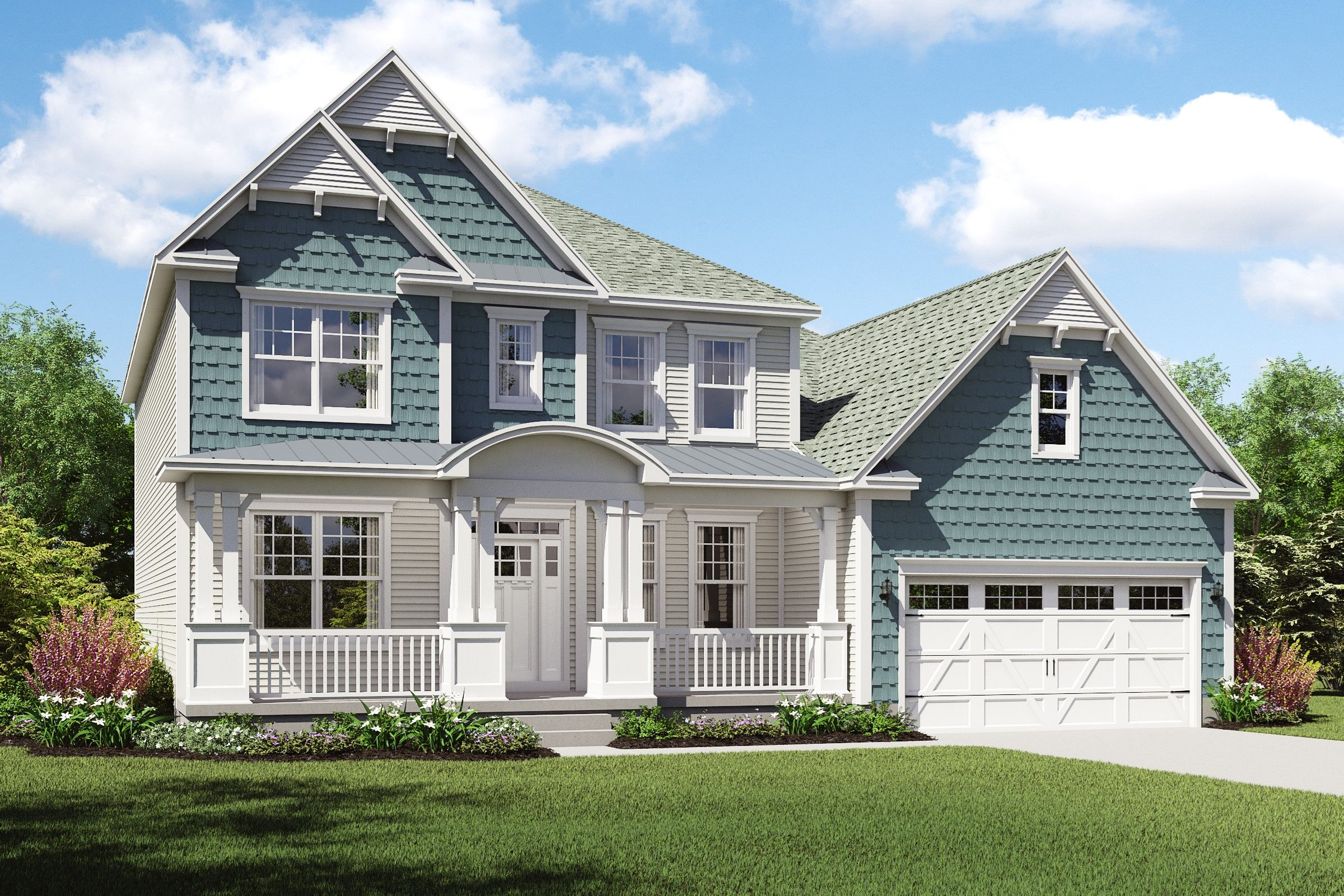 Exterior featured in the Portland By K. Hovnanian® Homes - Build on Your Lot