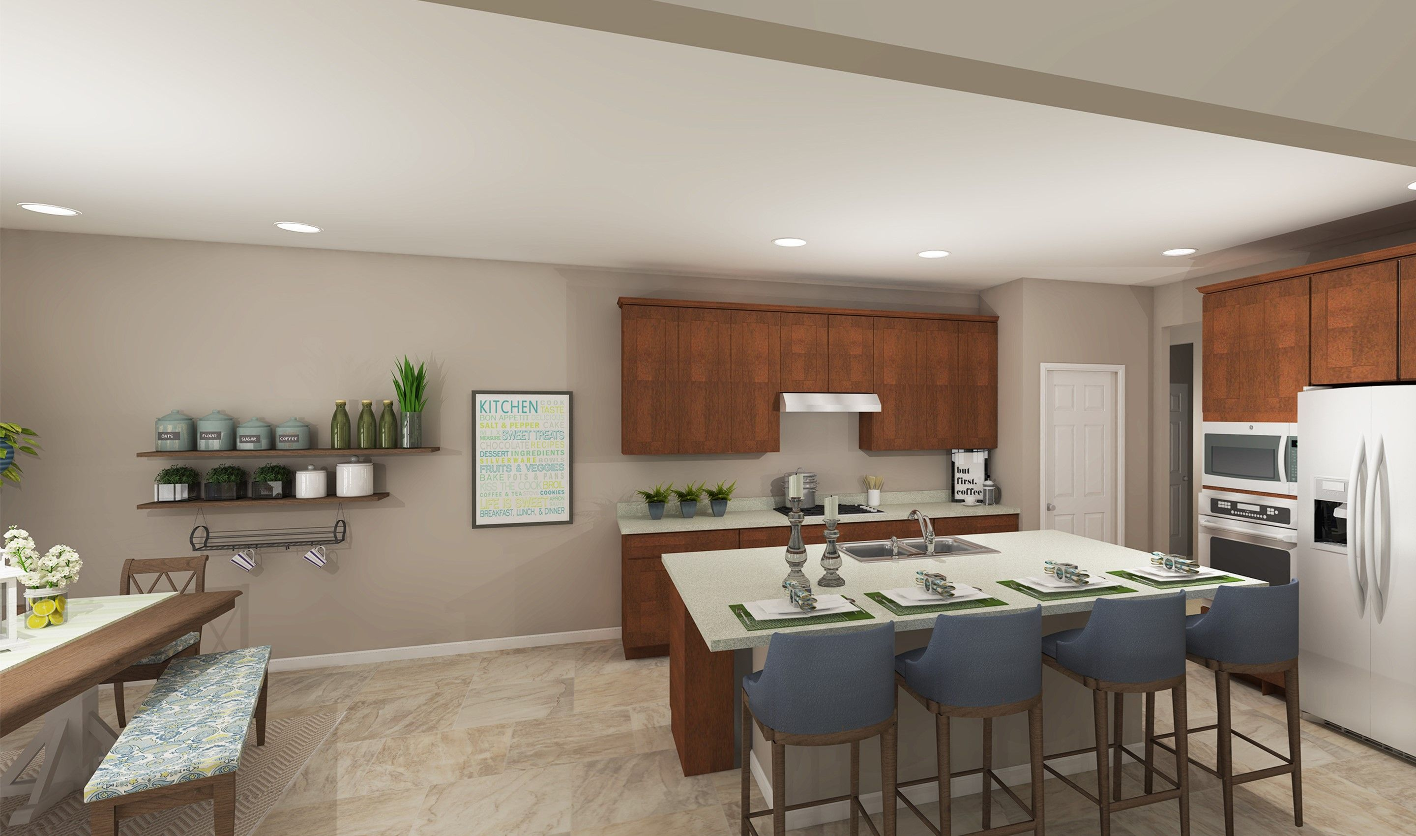 Kitchen featured in the Portland By K. Hovnanian® Homes - Build on Your Lot in Toledo, OH
