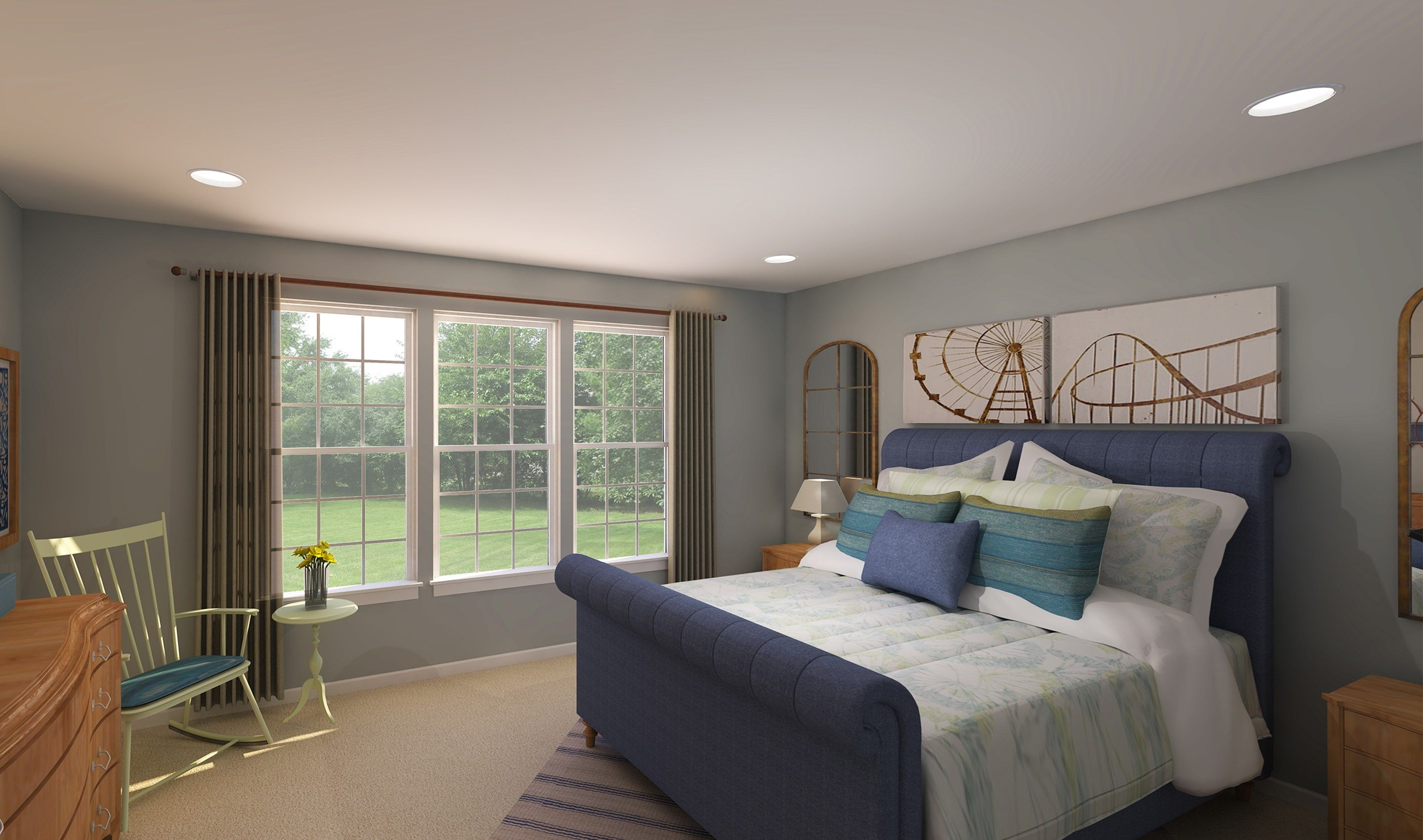 Bedroom featured in the Portland By K. Hovnanian® Homes - Build on Your Lot in Canton-Massillon, OH
