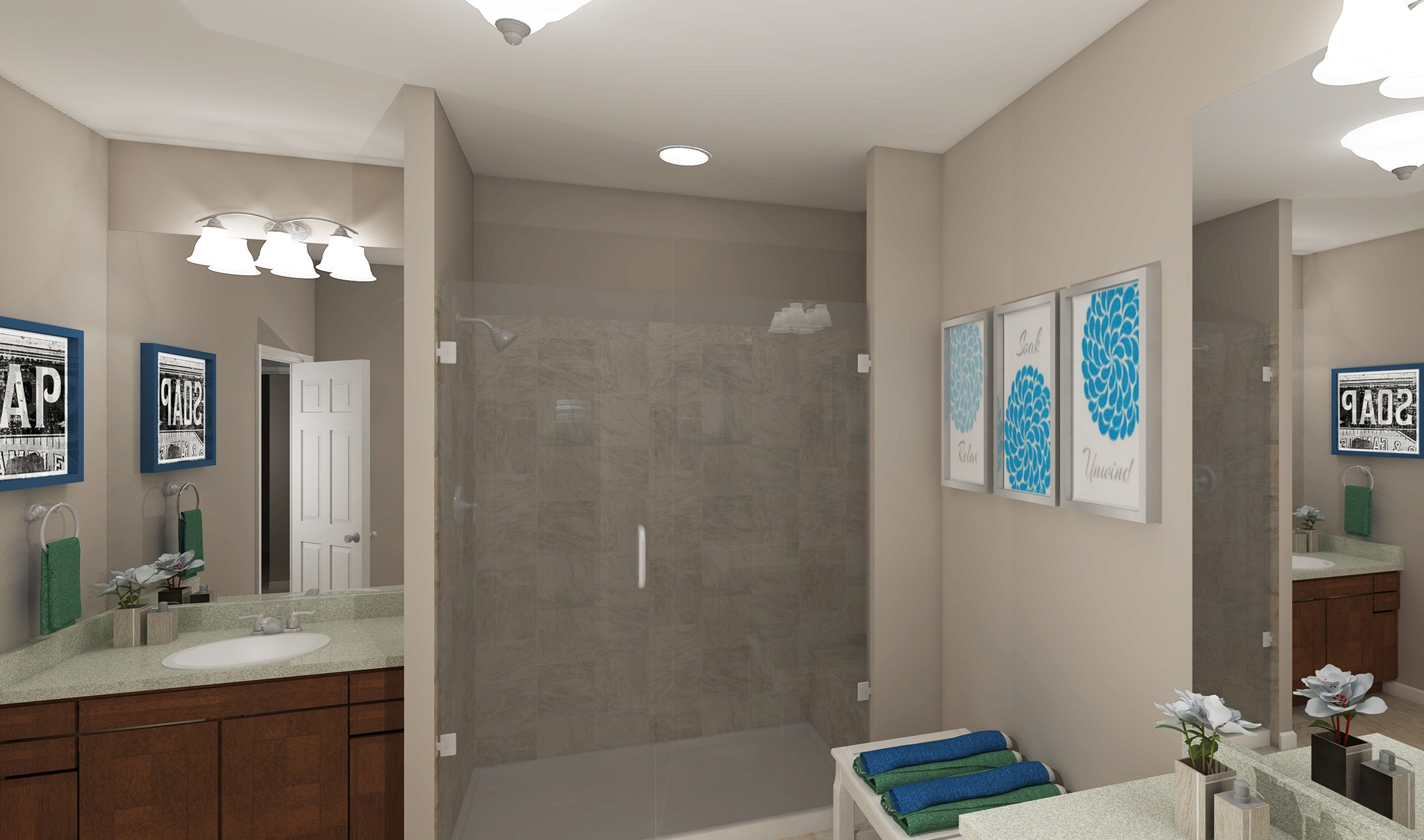 Bathroom featured in the Portland By K. Hovnanian® Homes - Build on Your Lot in Columbus, OH