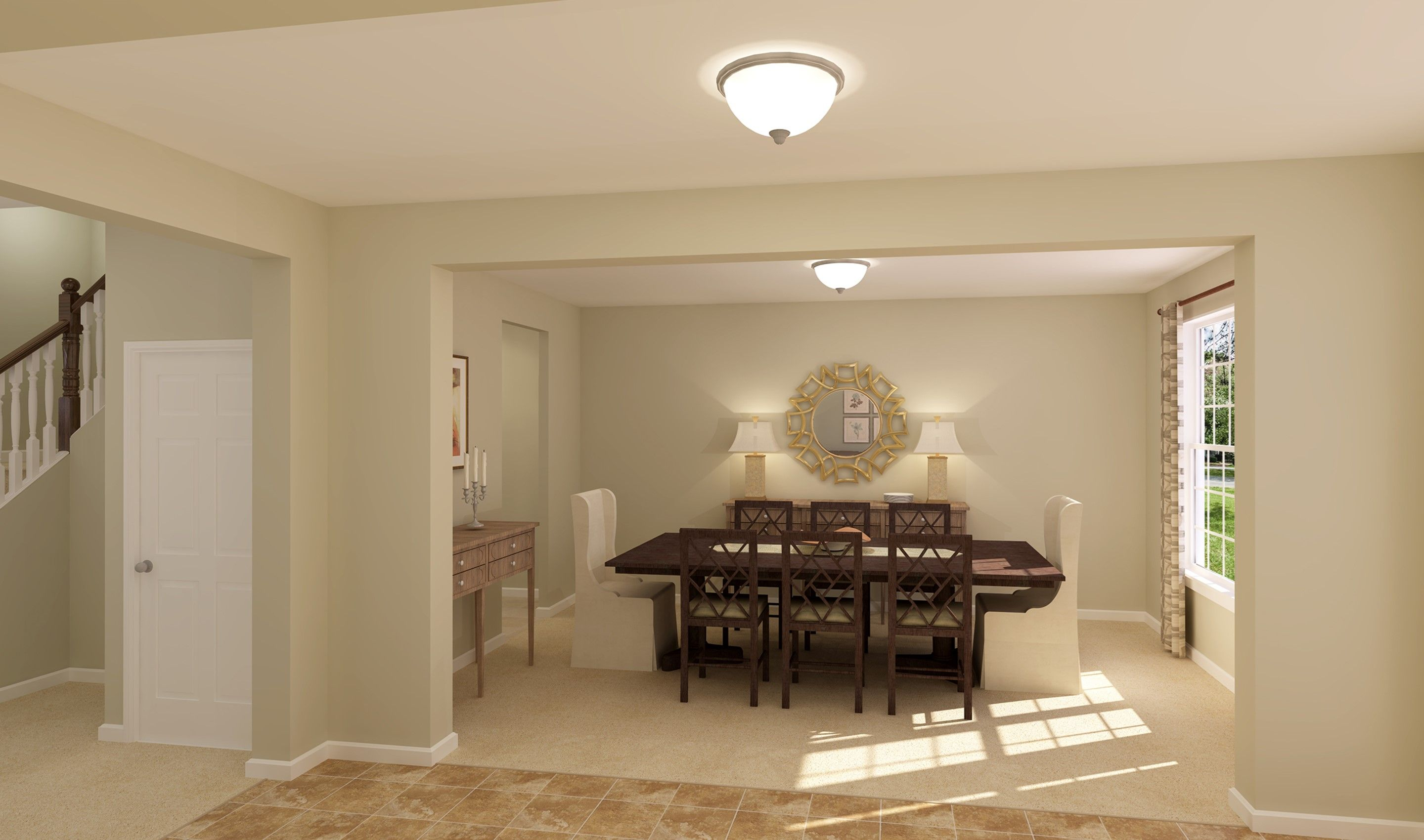 Living Area featured in the Oxnard I By K. Hovnanian® Homes - Build on Your Lot in Toledo, OH