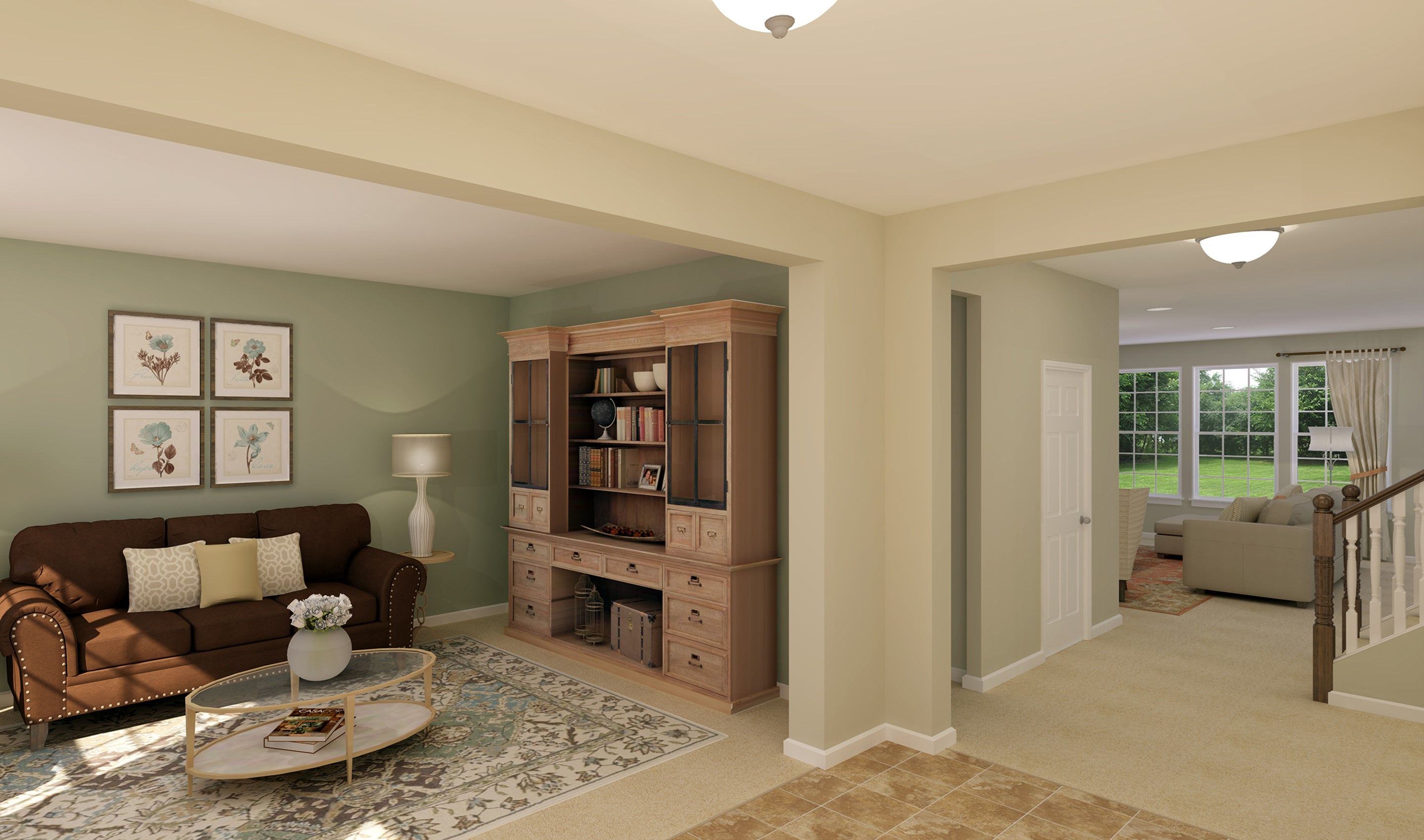 Living Area featured in the Oxnard I By K. Hovnanian® Homes - Build on Your Lot in Columbus, OH