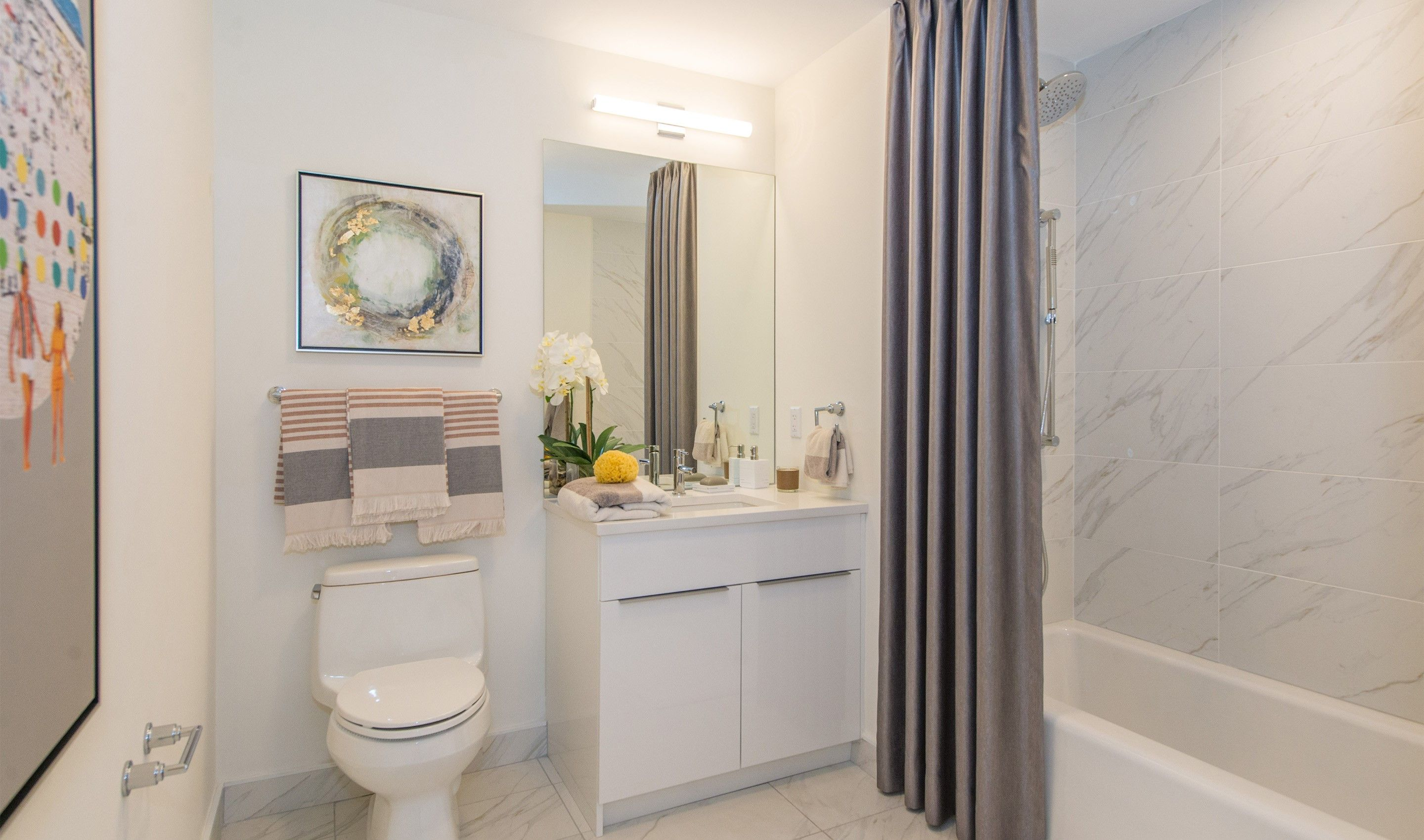 Bathroom featured in the B26 By K. Hovnanian® Homes in Hudson County, NJ